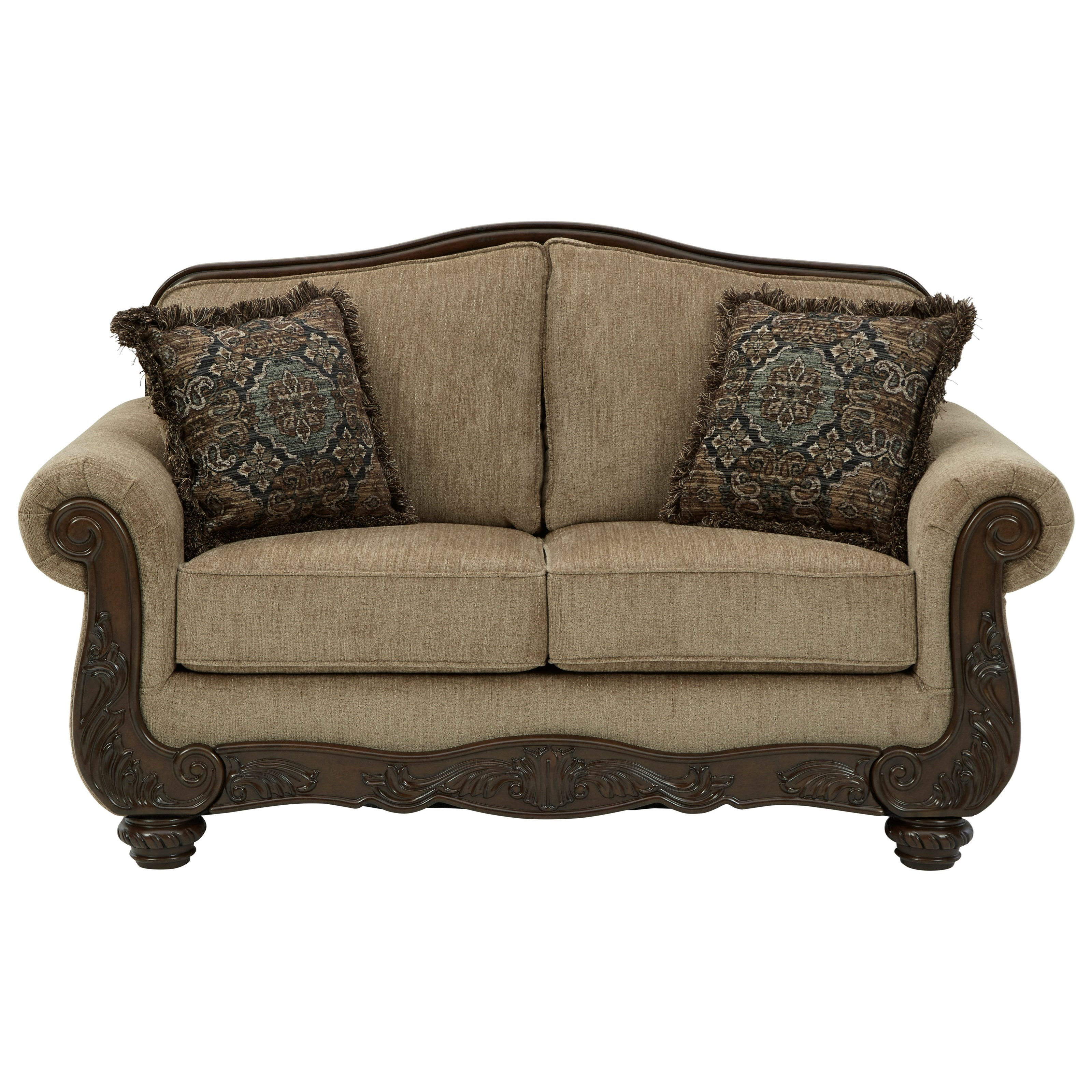 Briaroaks Loveseat by Benchcraft at Miller Waldrop Furniture and Decor