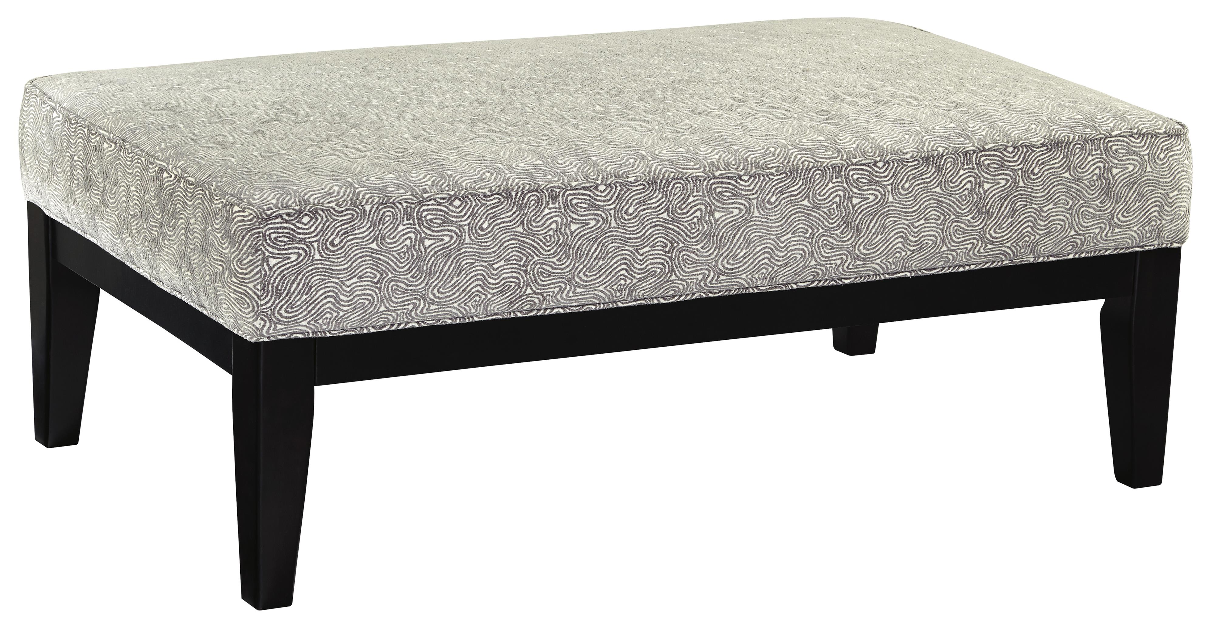 Brielyn Oversized Accent Ottoman by Benchcraft at Lapeer Furniture & Mattress Center
