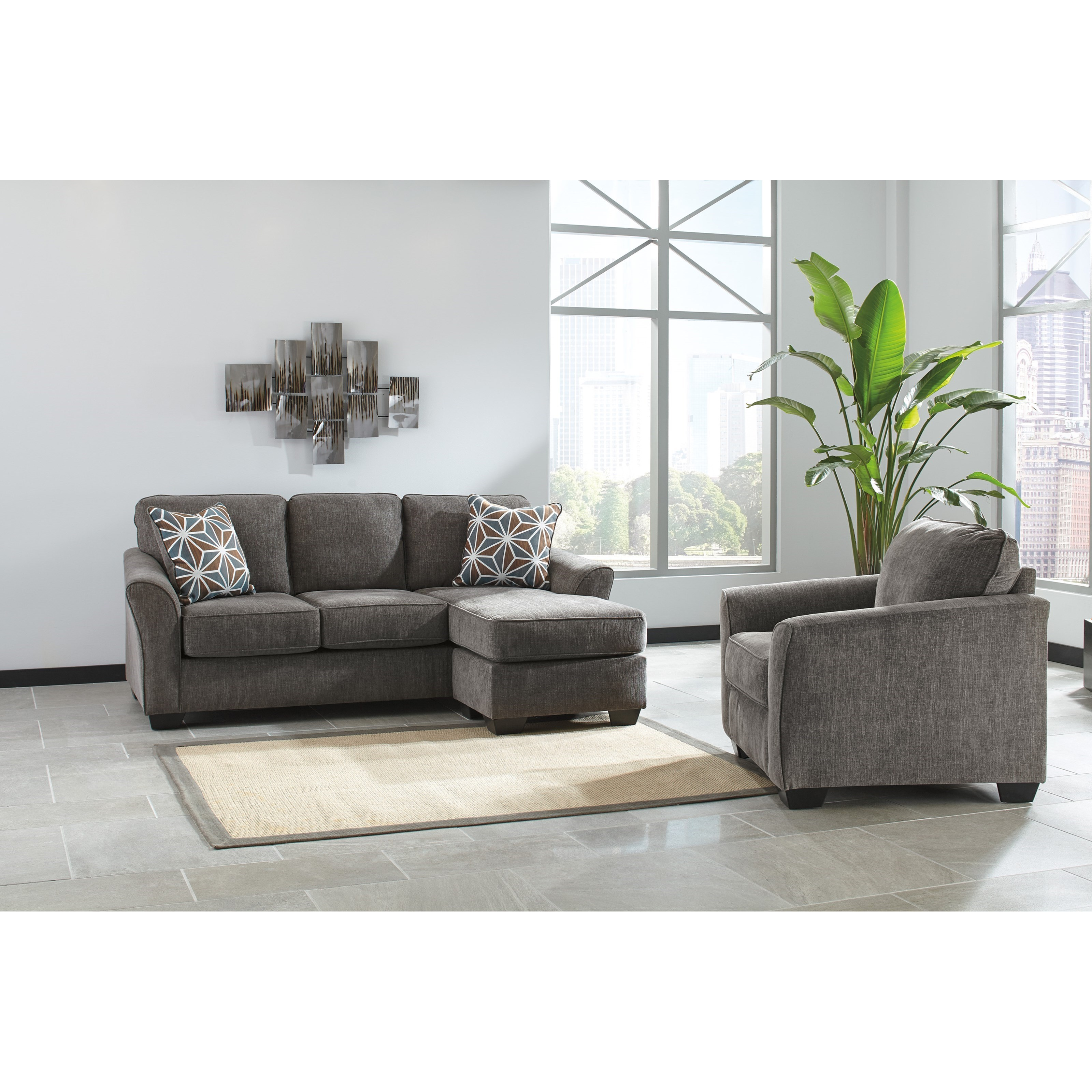 Brise Stationary Living Room Group by Benchcraft at Miller Waldrop Furniture and Decor