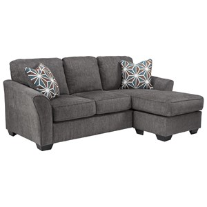 Casual Contemporary Queen Sofa Chaise Sleeper