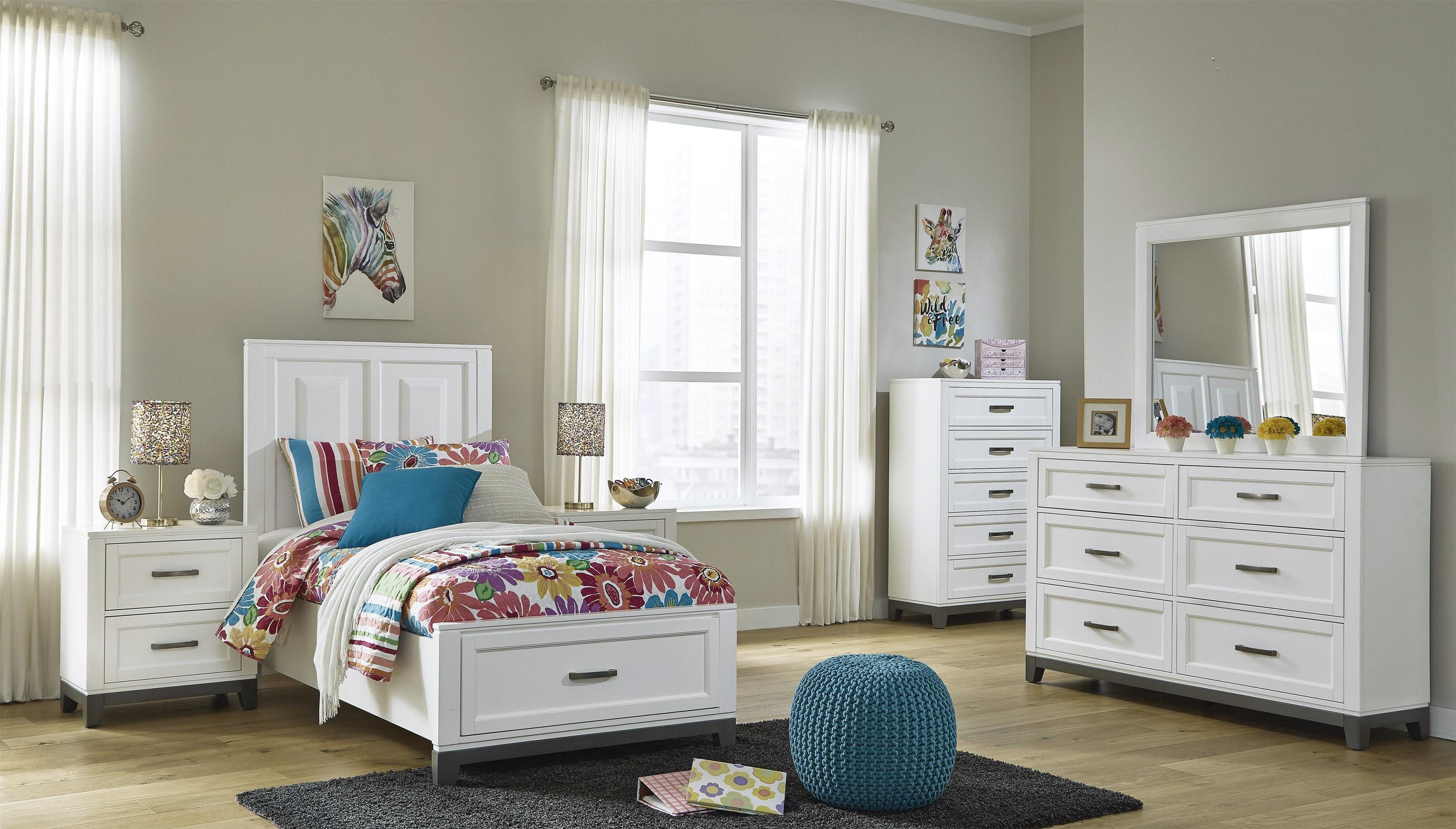 Brynburg 5 Piece Twin Bedroom Set by Benchcraft at Sam Levitz Outlet