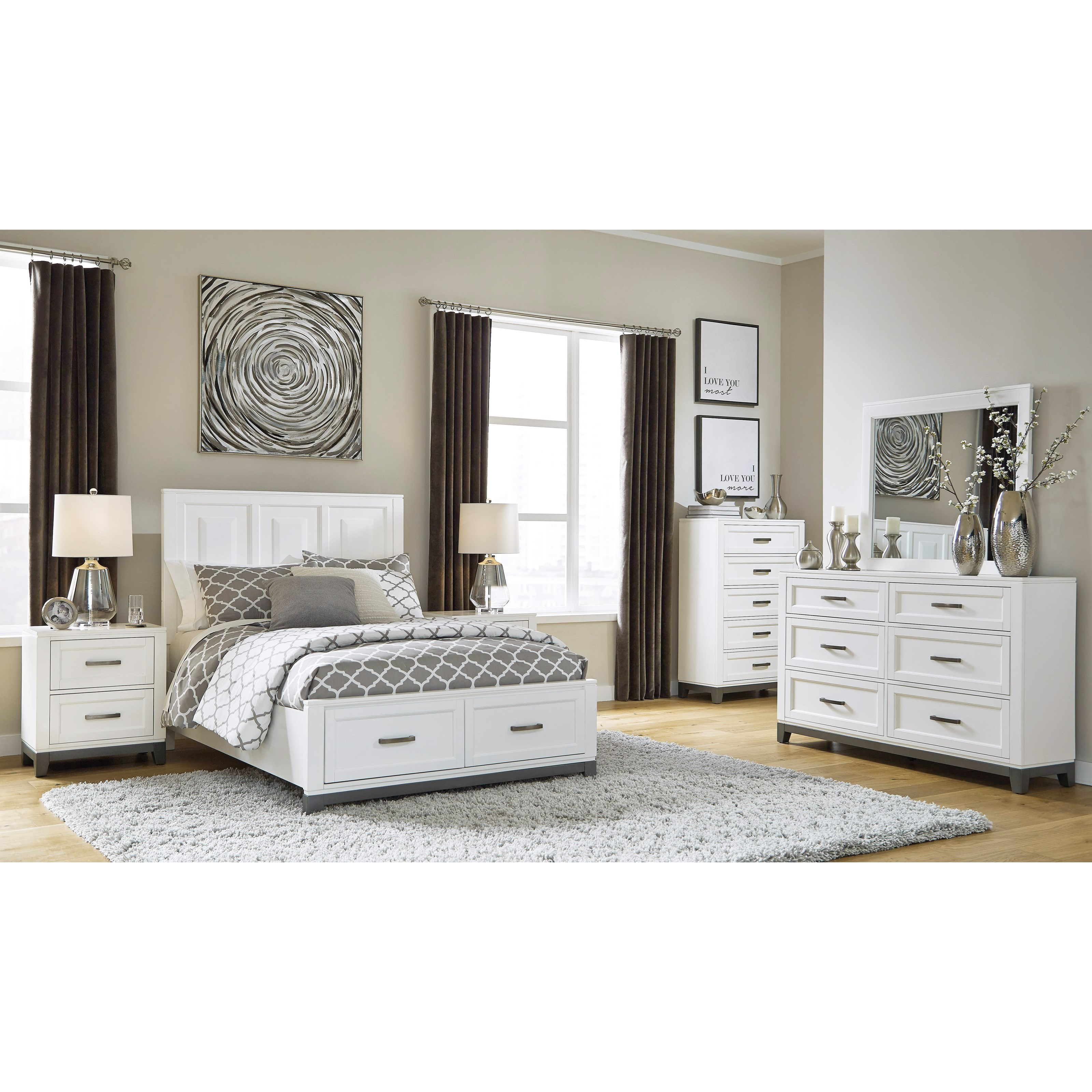Brynburg Full Bedroom Group by Benchcraft at Miller Waldrop Furniture and Decor