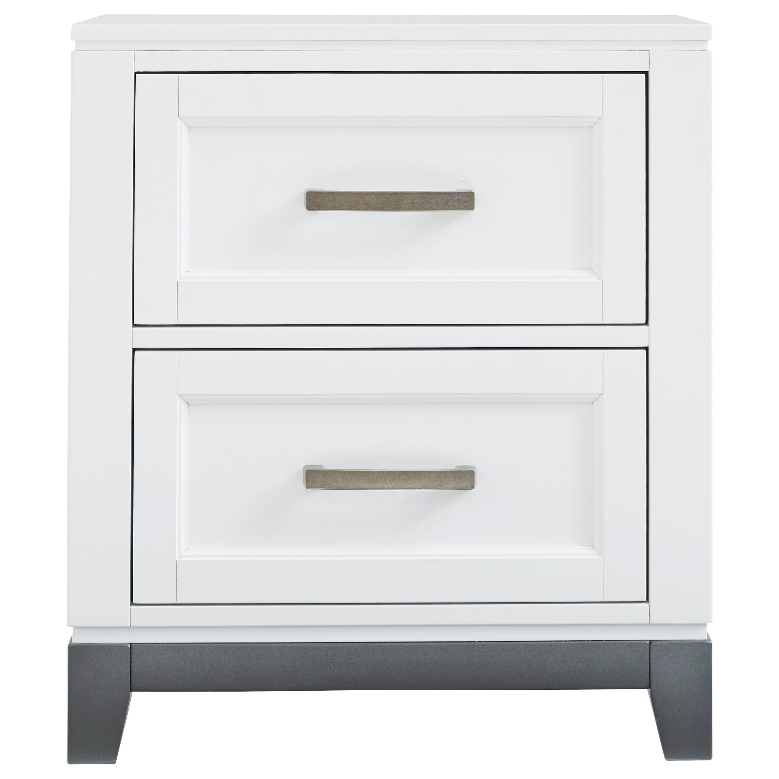 Brynburg Two Drawer Nightstand by Benchcraft at Northeast Factory Direct