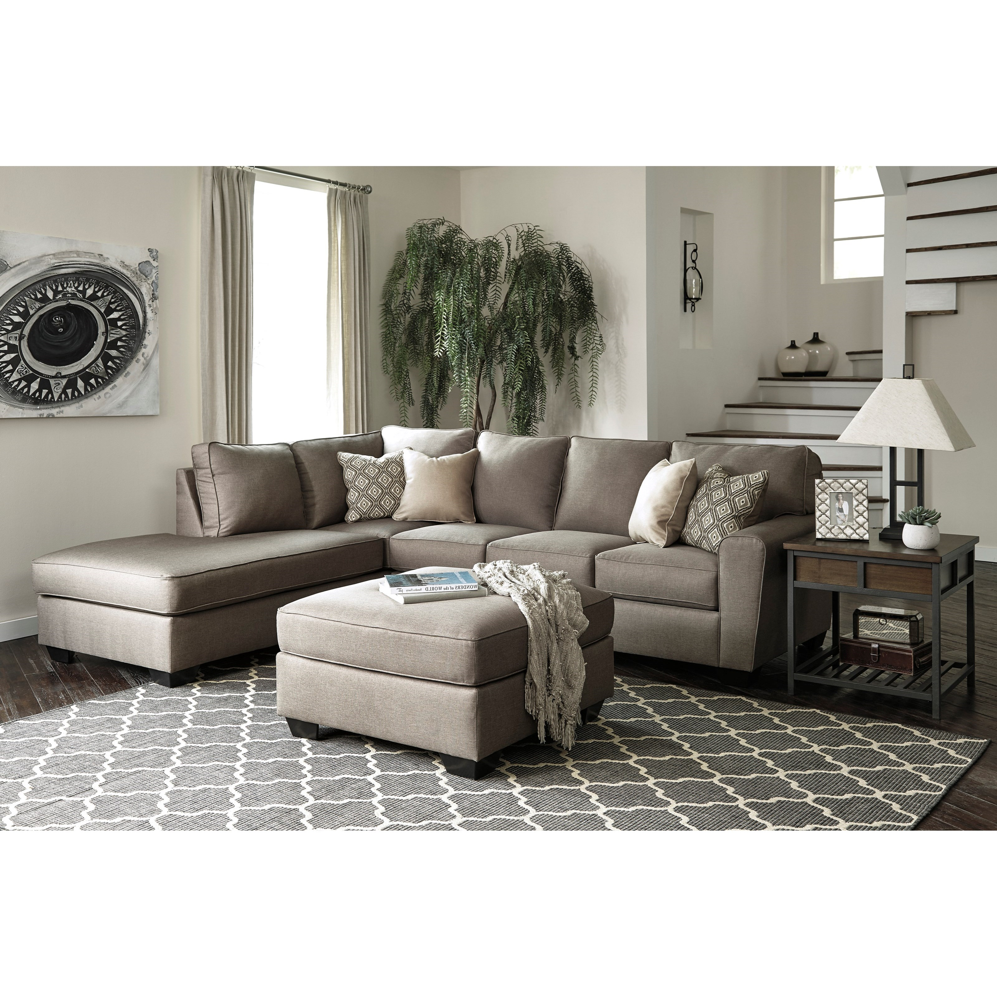 Calicho Stationary Living Room Group by Benchcraft at Northeast Factory Direct