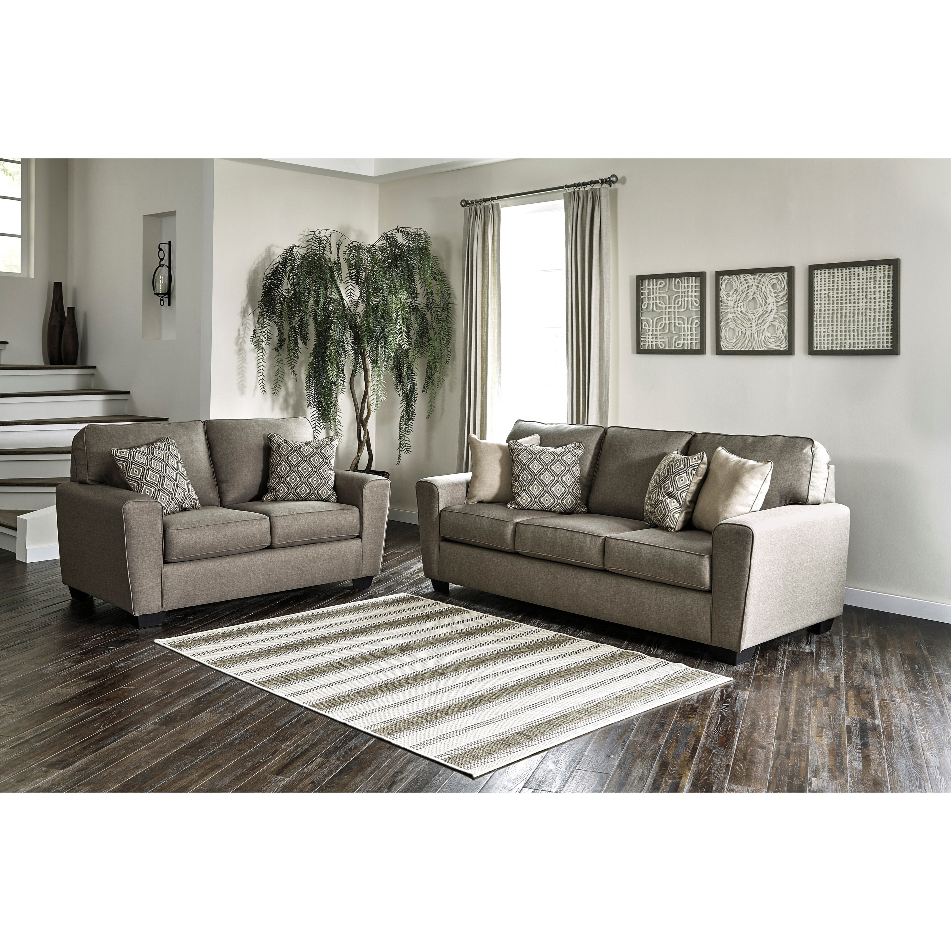 Calicho Stationary Living Room Group by Benchcraft at Home Furnishings Direct