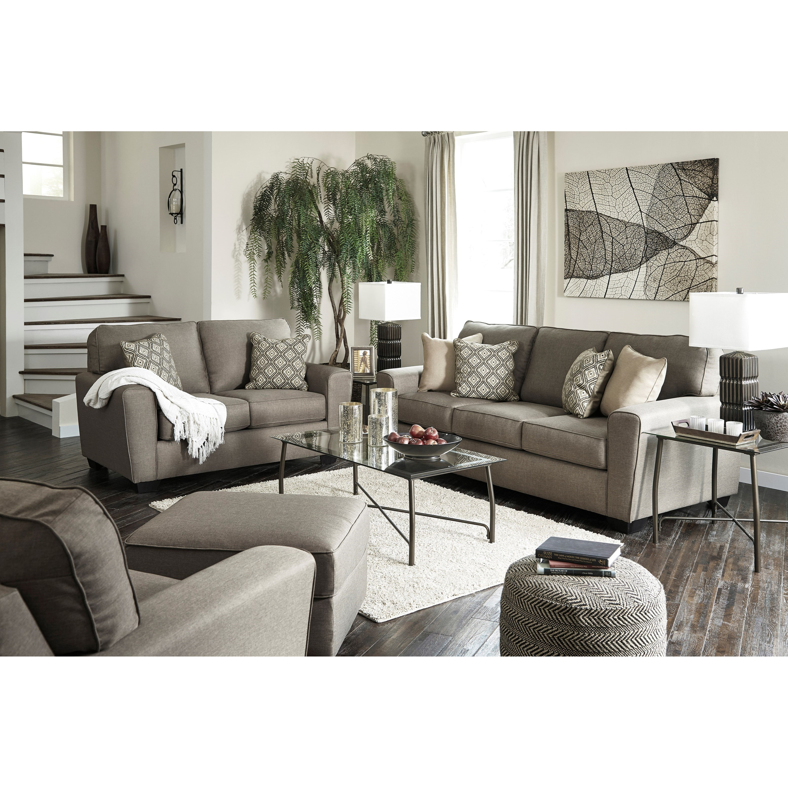 Calicho Stationary Living Room Group by Benchcraft at Miller Waldrop Furniture and Decor