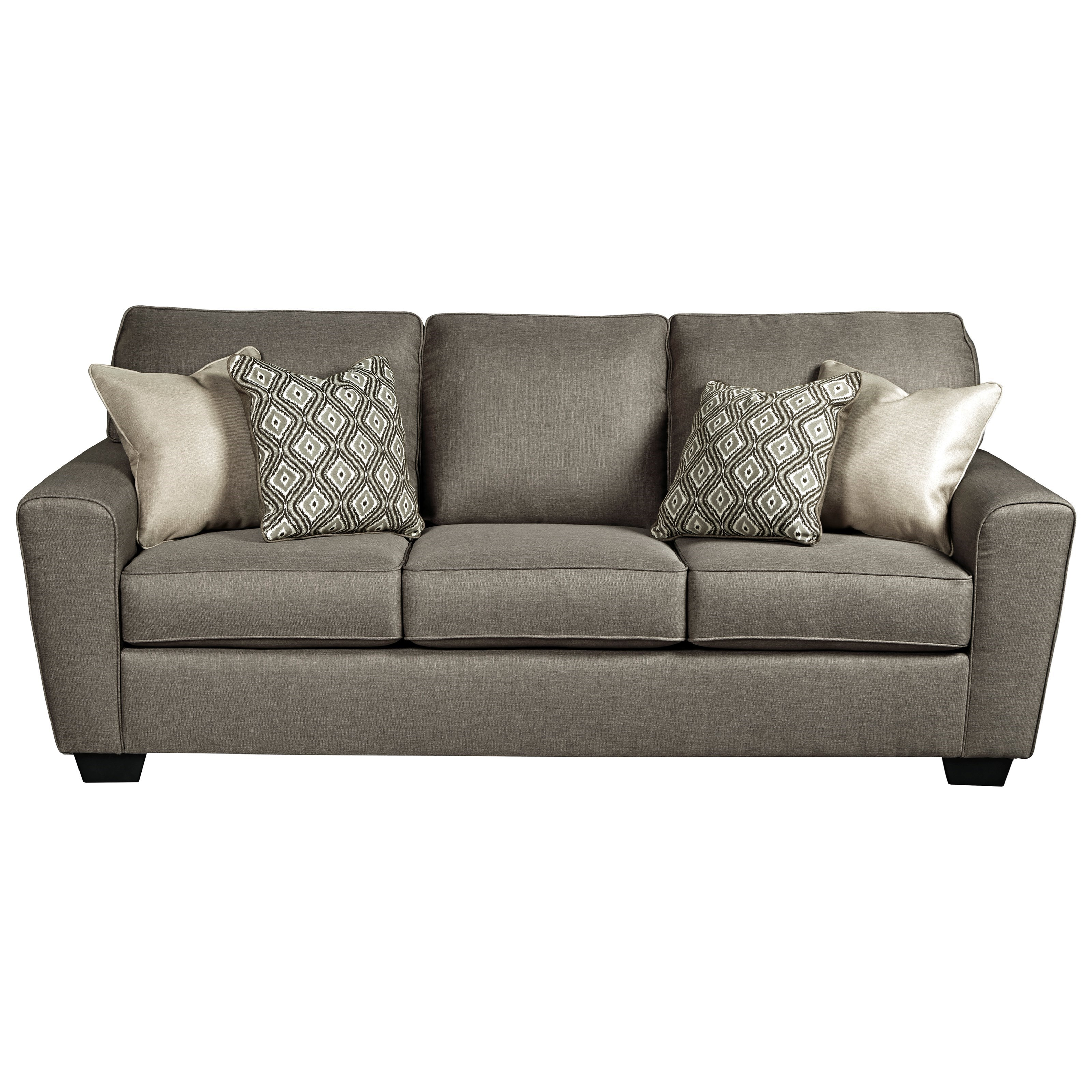Calicho Queen Sofa Sleeper by Benchcraft at Miller Waldrop Furniture and Decor