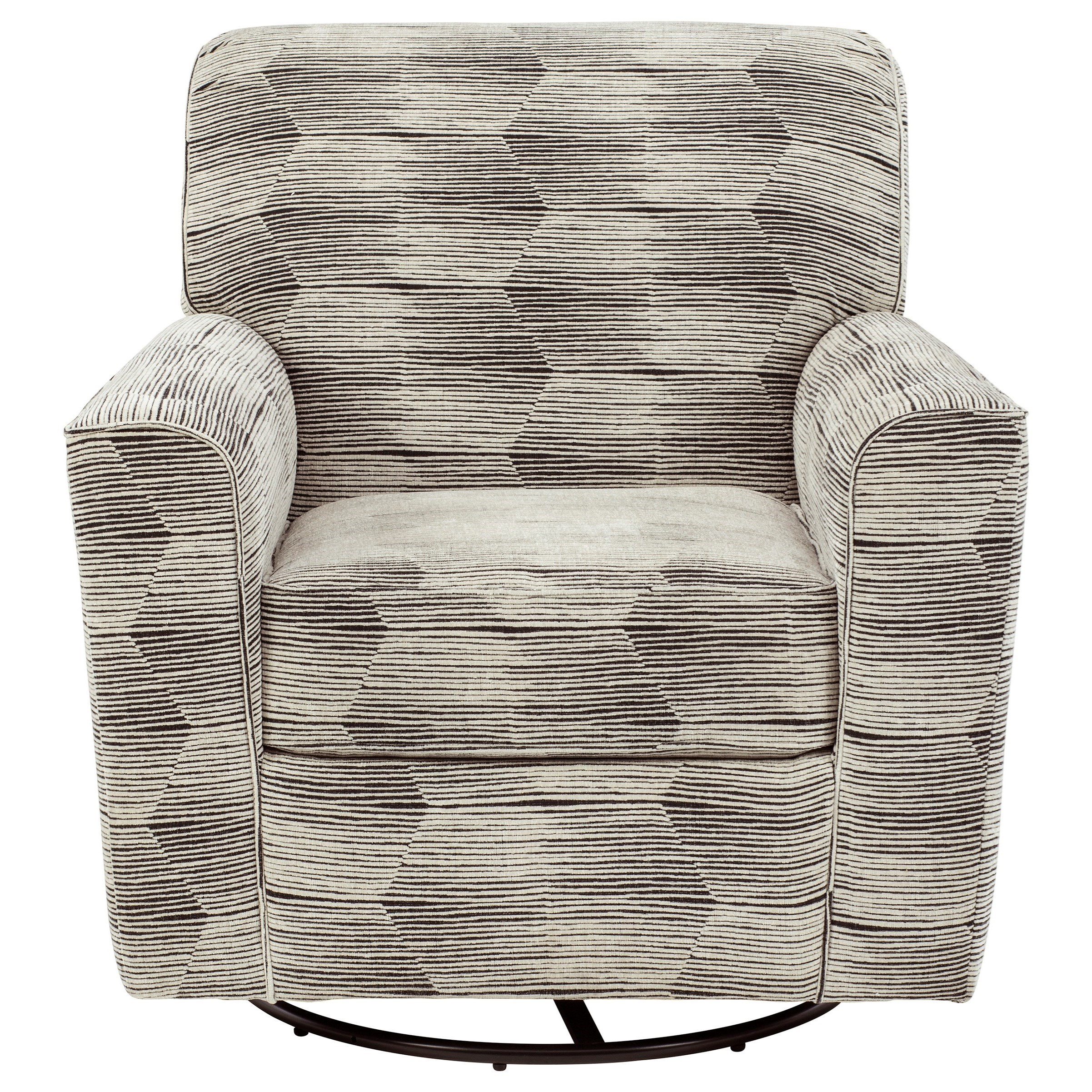Callisburg Swivel Glider Accent Chair by Benchcraft at Simply Home by Lindy's