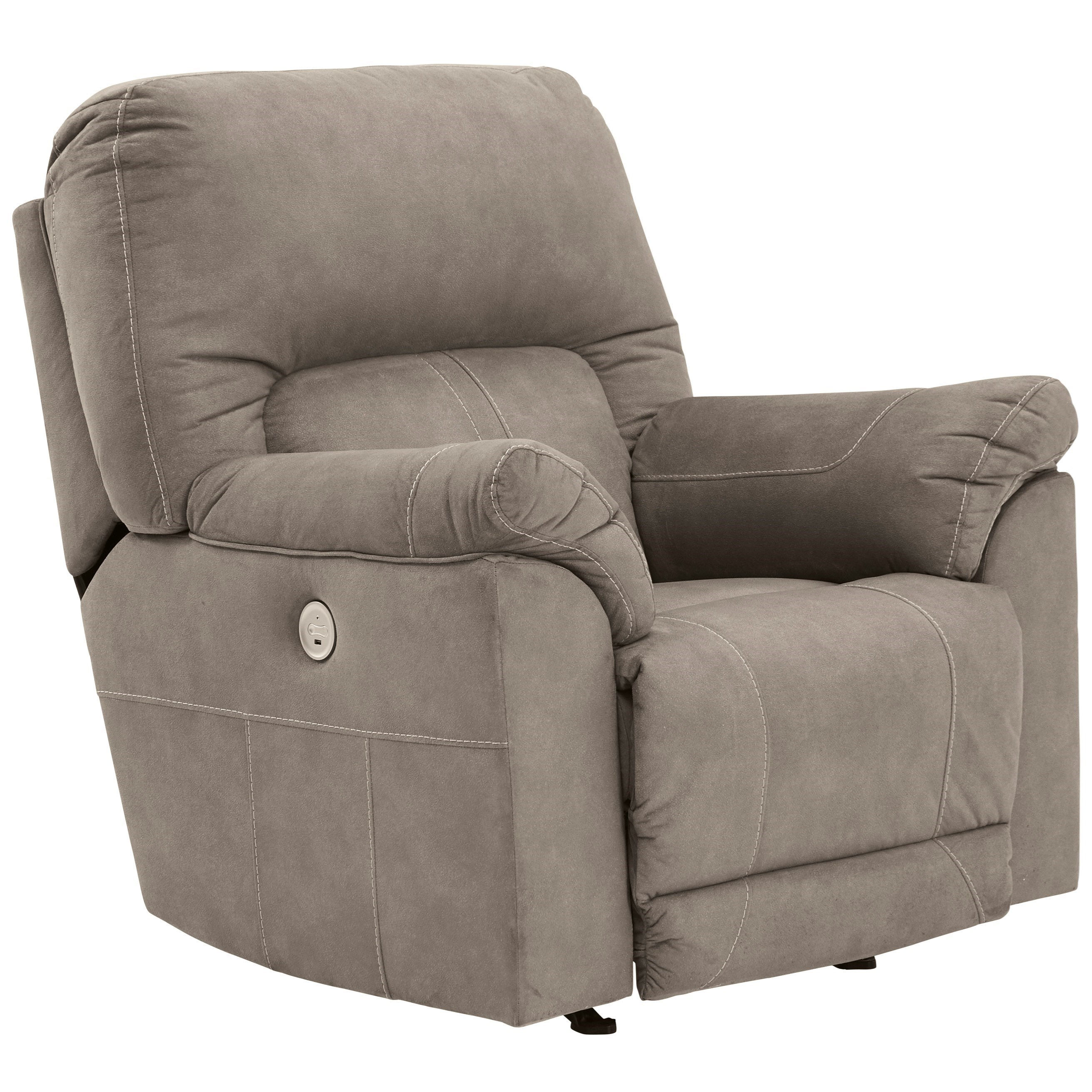 Cavalcade Power Rocker Recliner by Benchcraft at Miller Waldrop Furniture and Decor