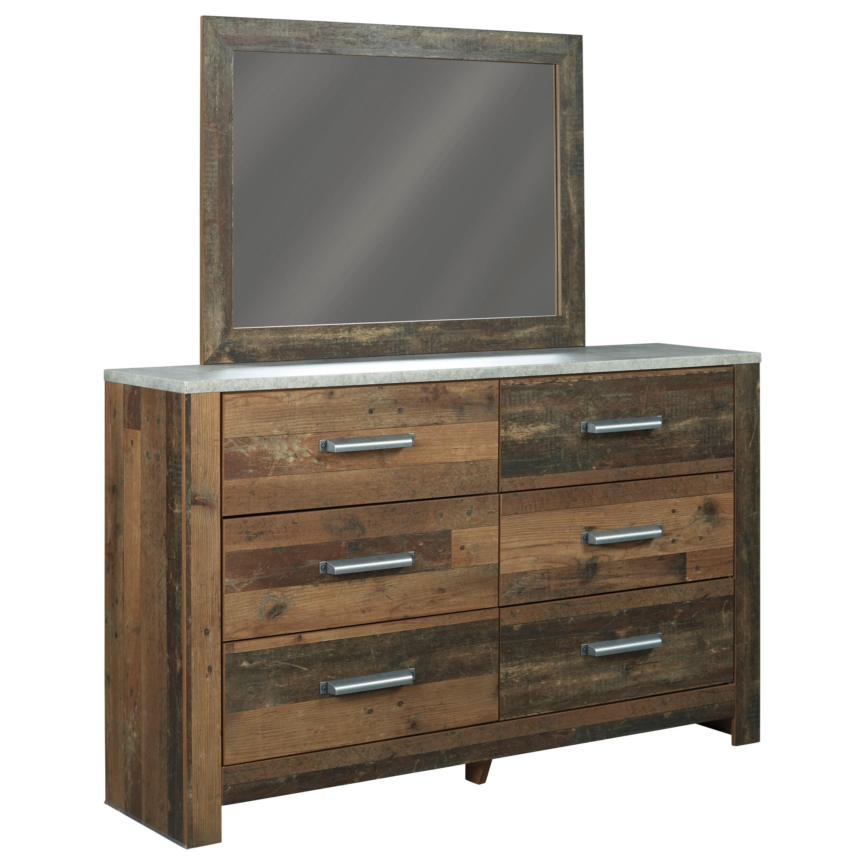 Chadbrook Dresser & Bedroom Mirror by Benchcraft at Northeast Factory Direct