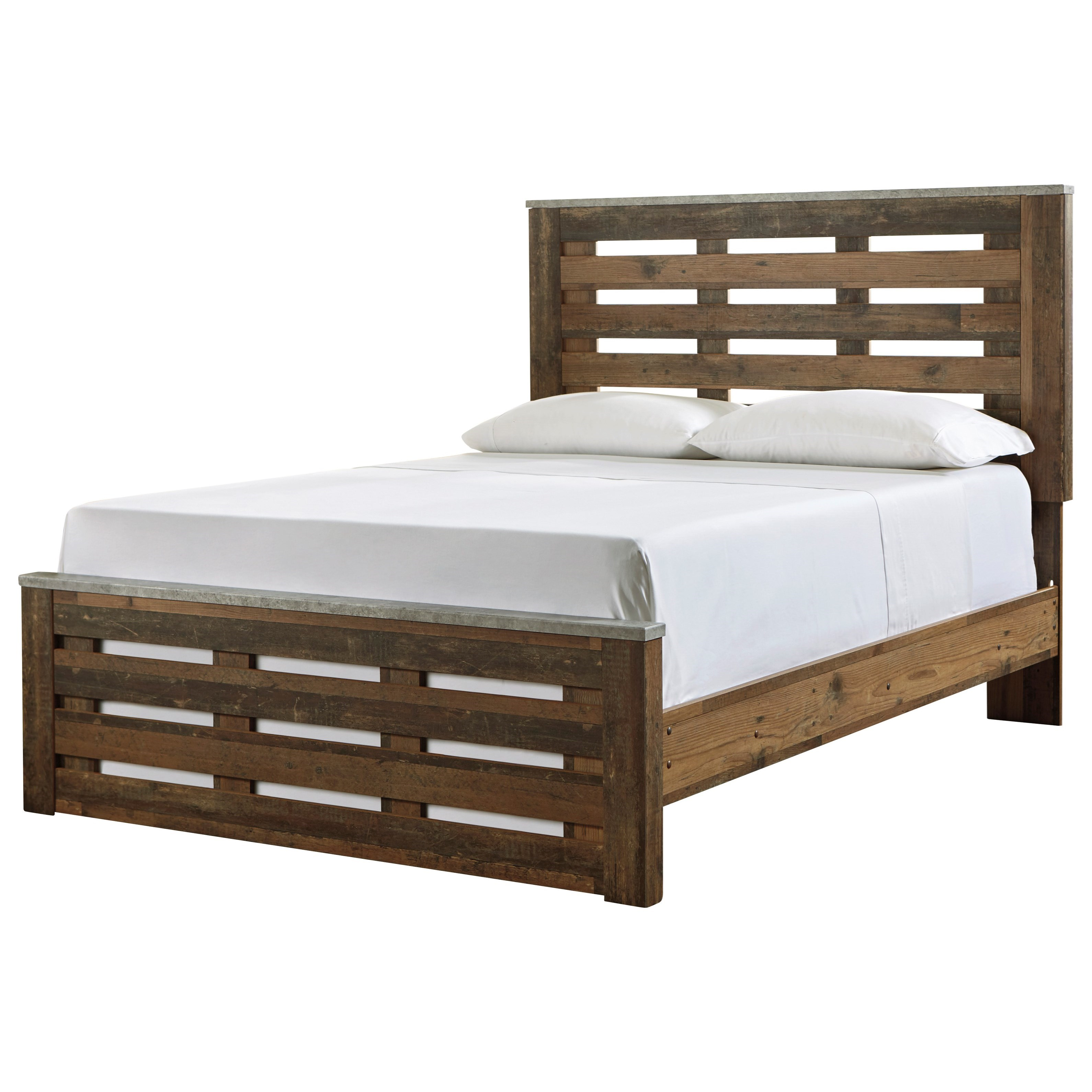 Chadbrook Queen Panel Bed by Benchcraft at Walker's Furniture