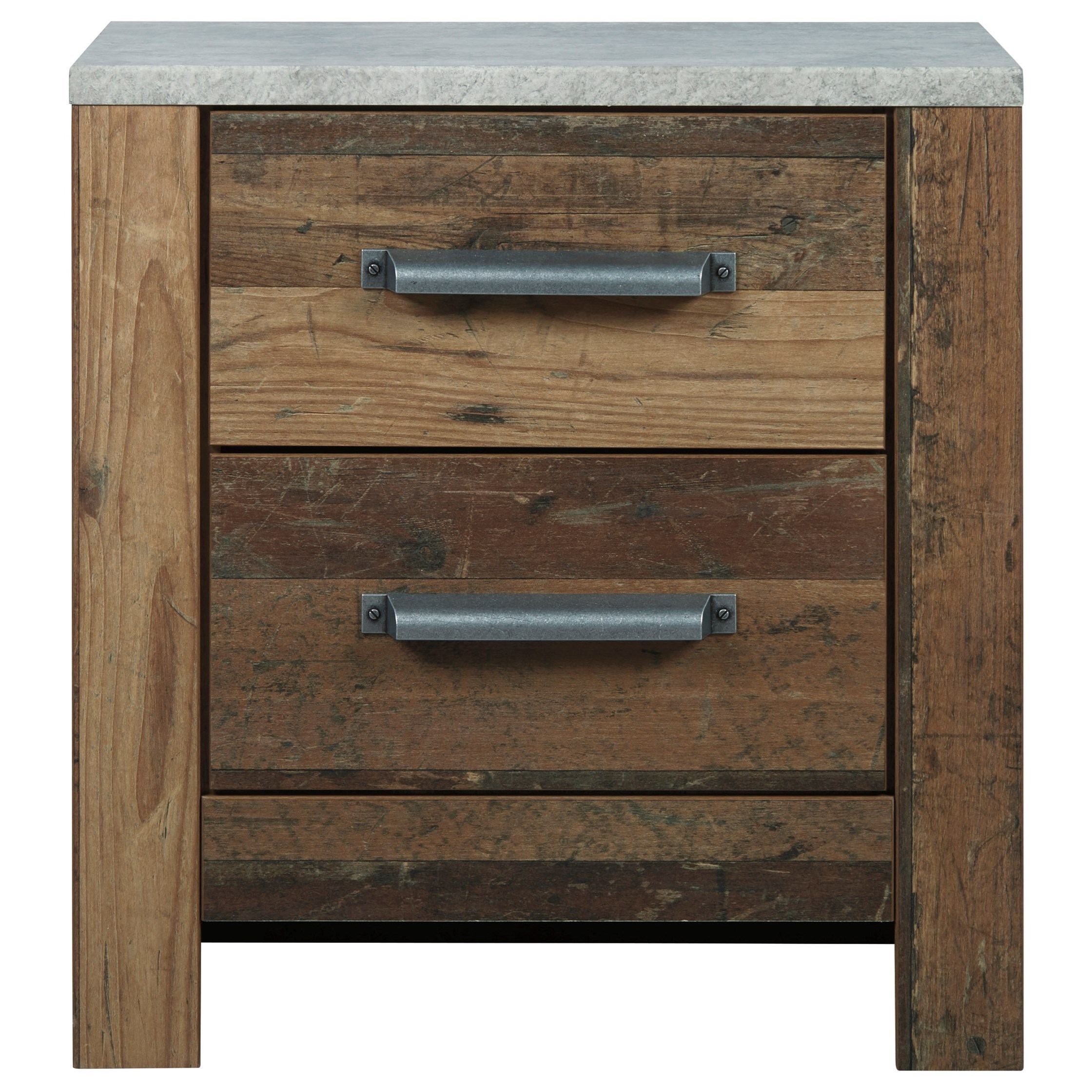 Chadbrook 2-Drawer Nightstand by Benchcraft at Northeast Factory Direct