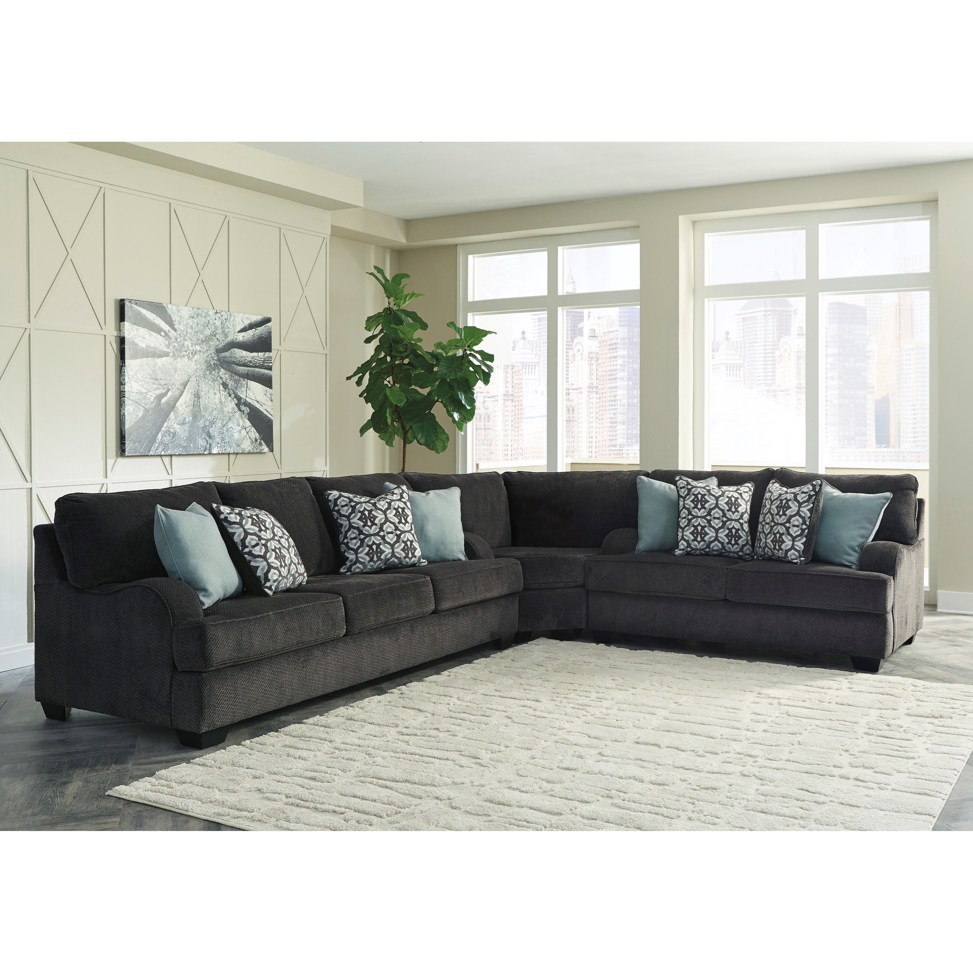 Charenton Sectional Sofa by Benchcraft at Standard Furniture