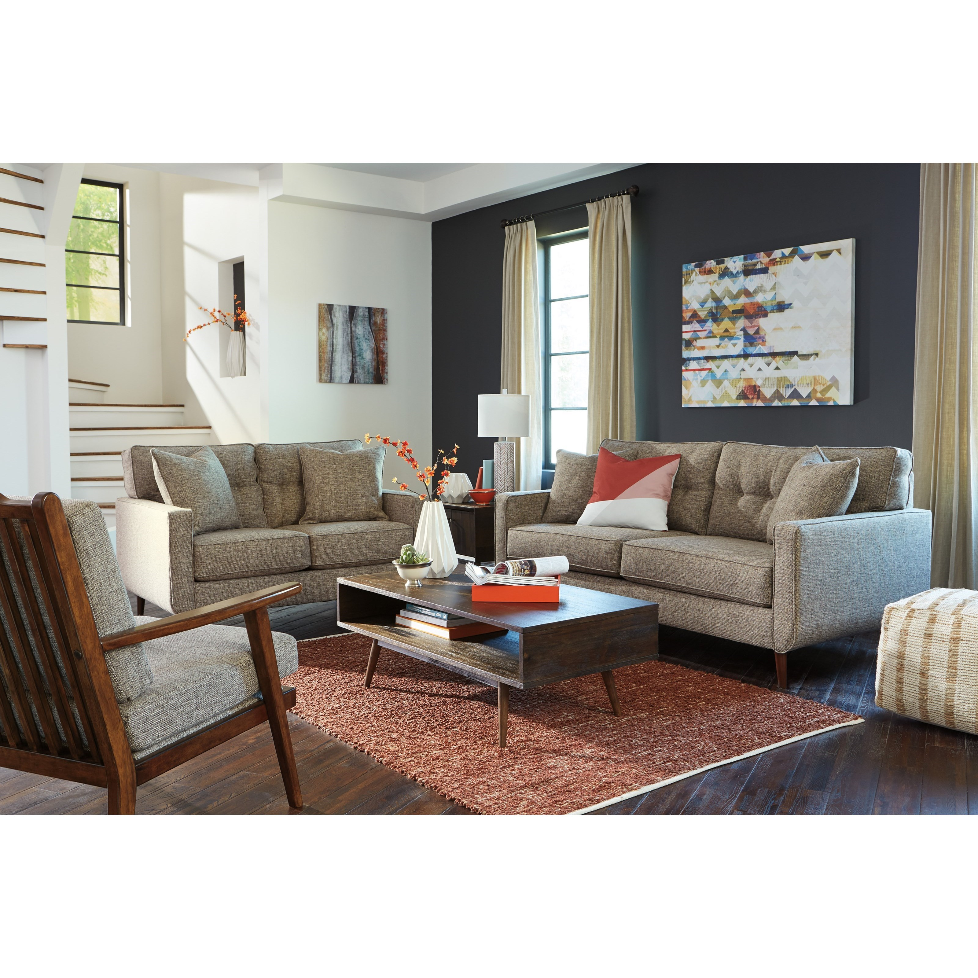 Dahra Stationary Living Room Group by Benchcraft at HomeWorld Furniture