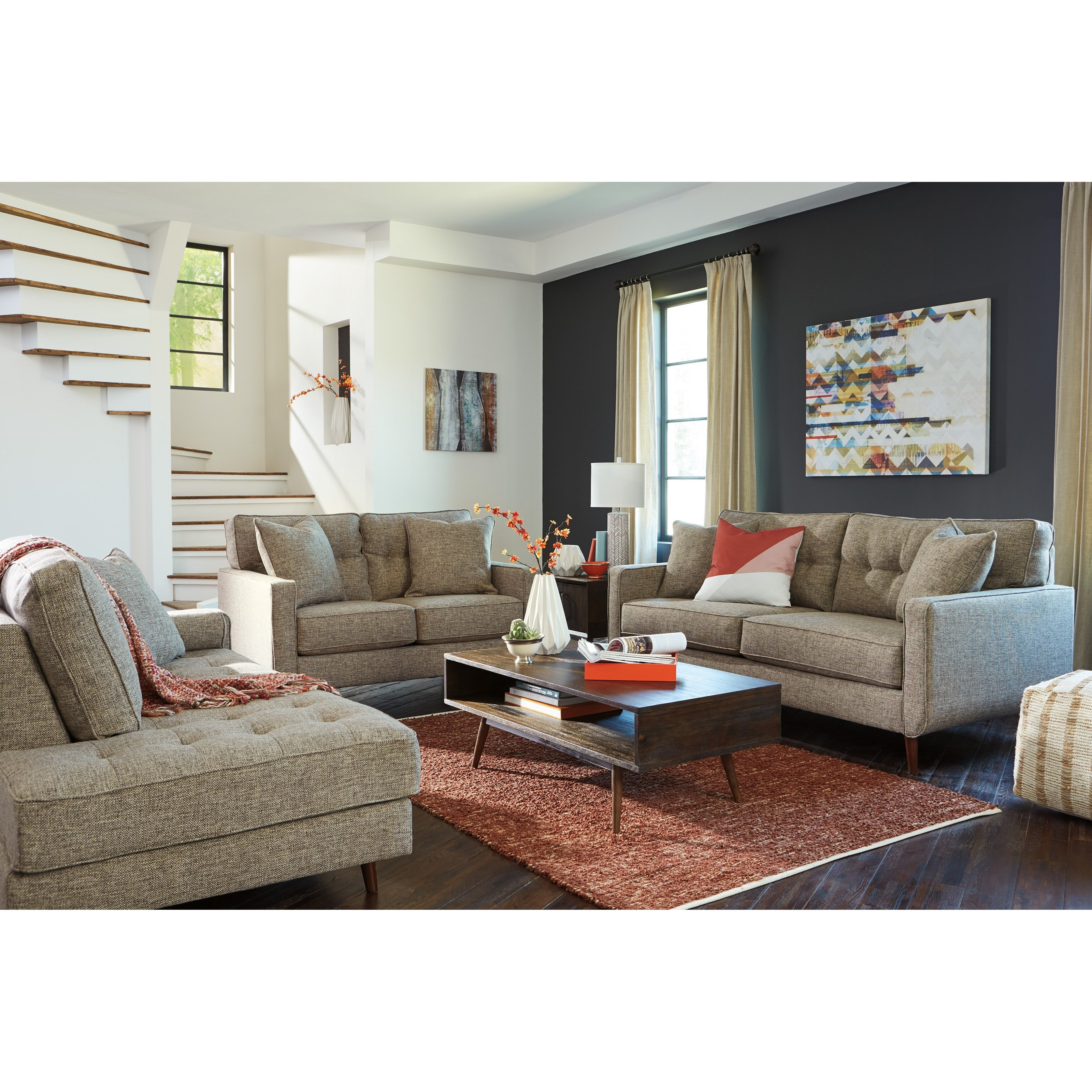 Dahra Stationary Living Room Group by Benchcraft at Value City Furniture