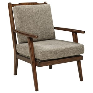 Danish Modern Style Accent Chair