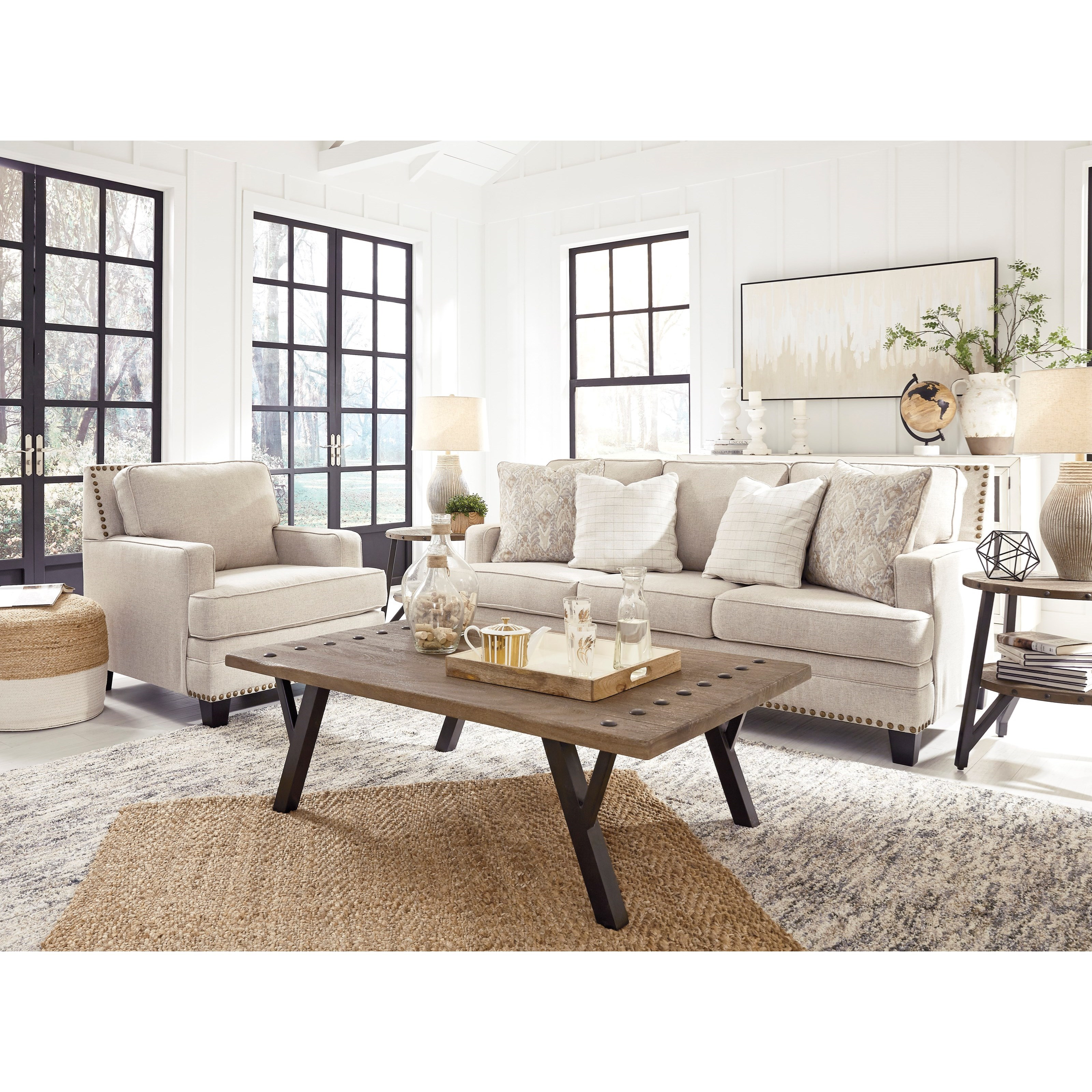 Claredon  Living Room Group by Benchcraft at Northeast Factory Direct