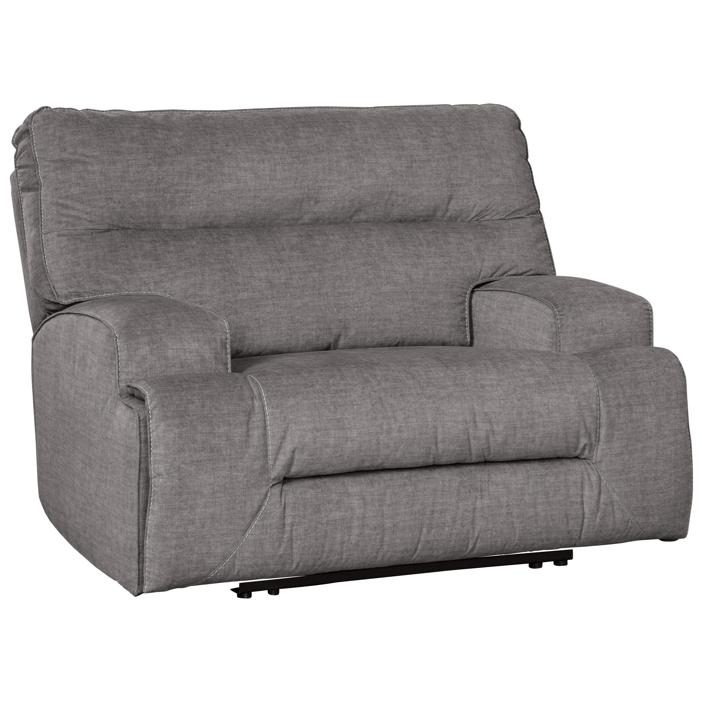 Coombs Wide Seat Power Recliner by Benchcraft at Miller Waldrop Furniture and Decor
