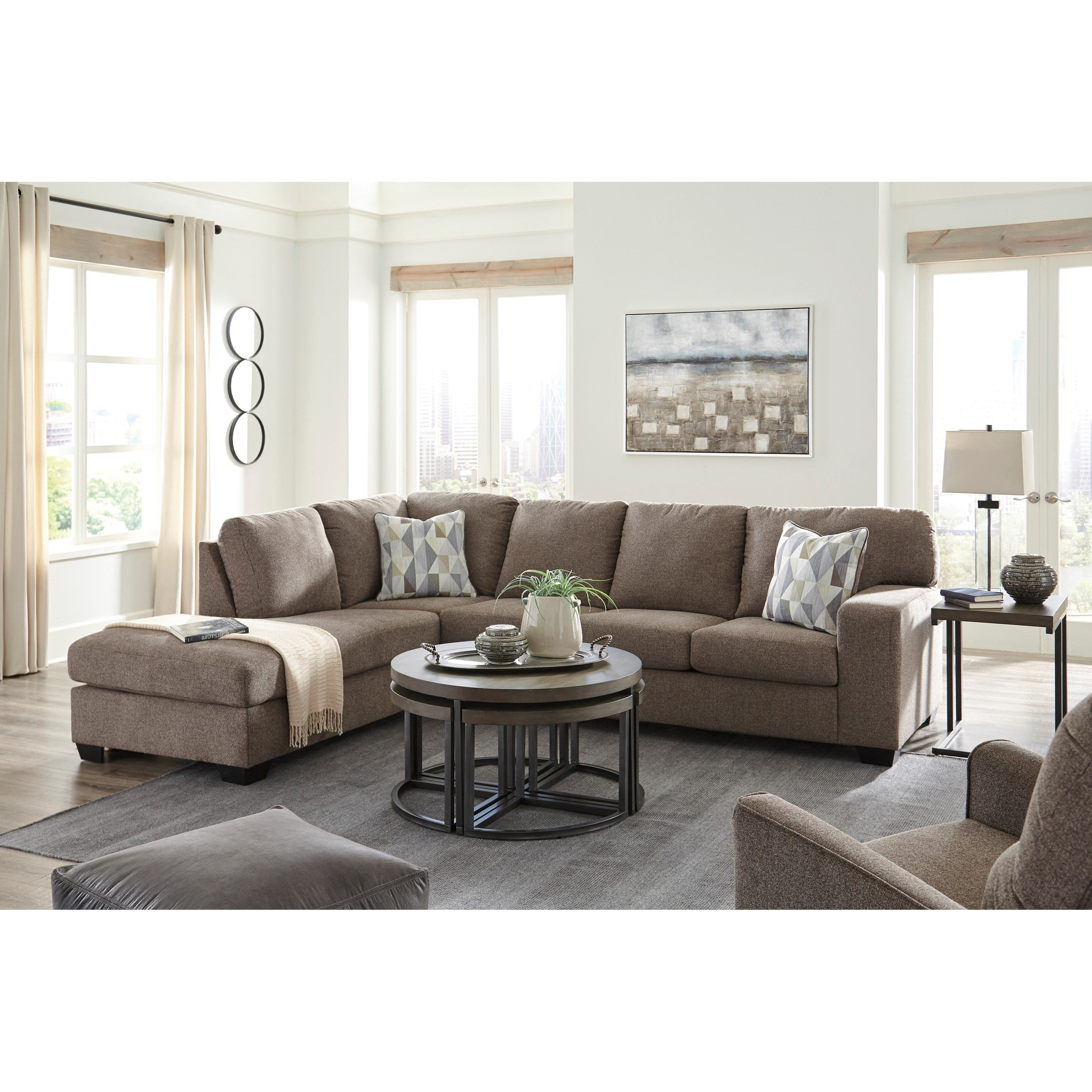 Dalhart Living Room Group by Benchcraft at Zak's Warehouse Clearance Center
