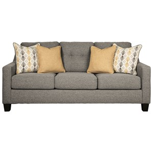 Contemporary Sofa with Tufted Back