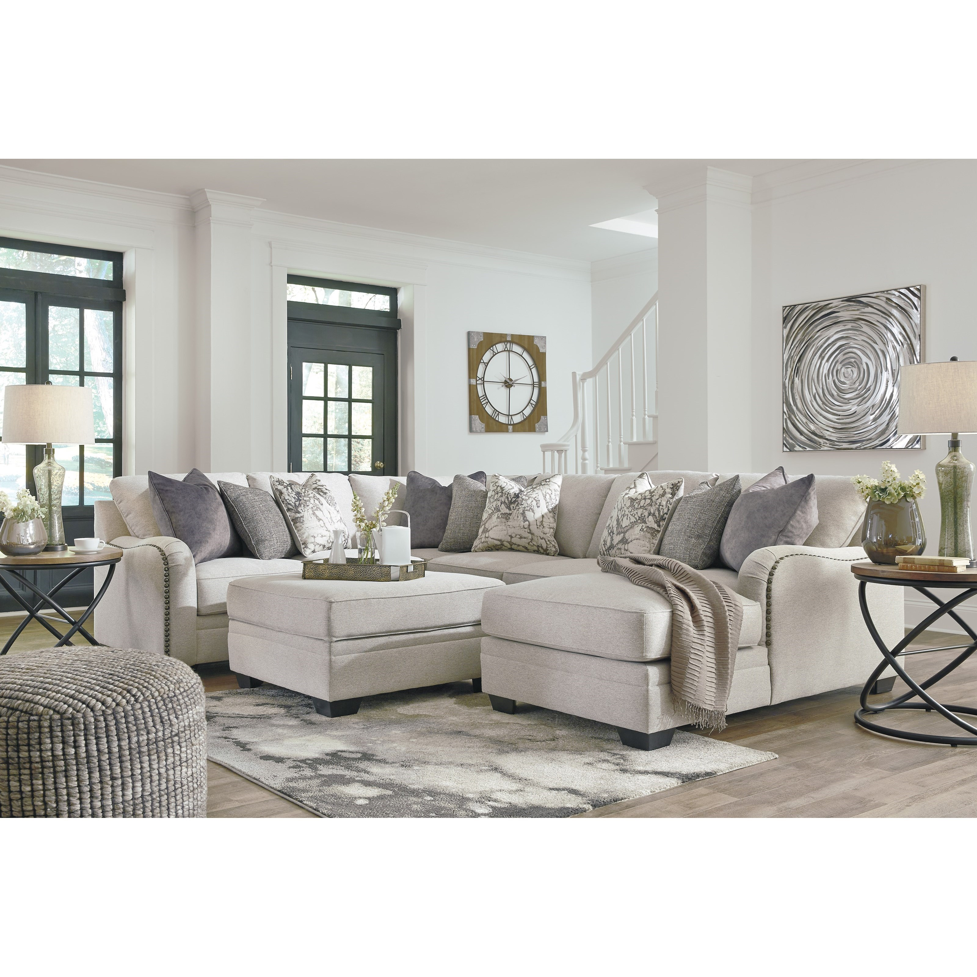 Dellara Stationary Living Room Group by Benchcraft at Johnny Janosik