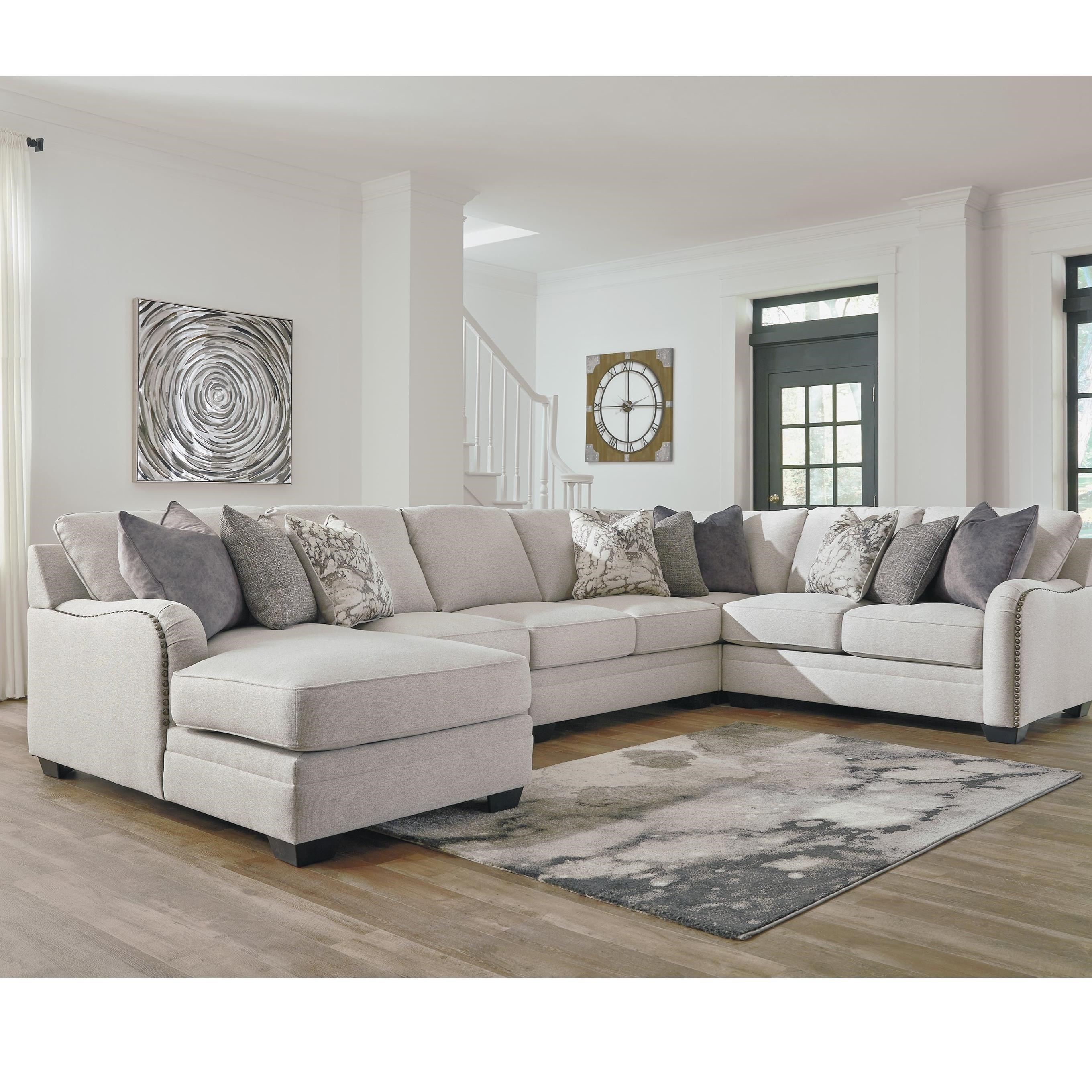 Dellara 5-Piece Sectional by Benchcraft at Walker's Furniture