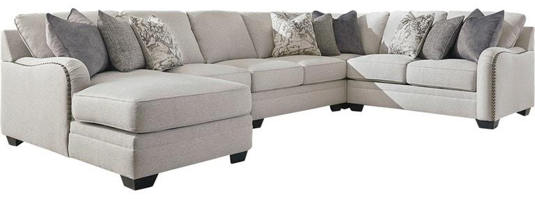 Dellara 5-Piece Sectional by Benchcraft at Value City Furniture