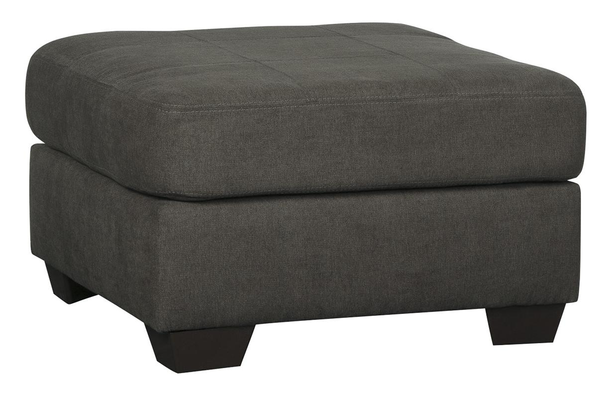 Delta City - Steel Oversized Accent Ottoman by Benchcraft at Lapeer Furniture & Mattress Center