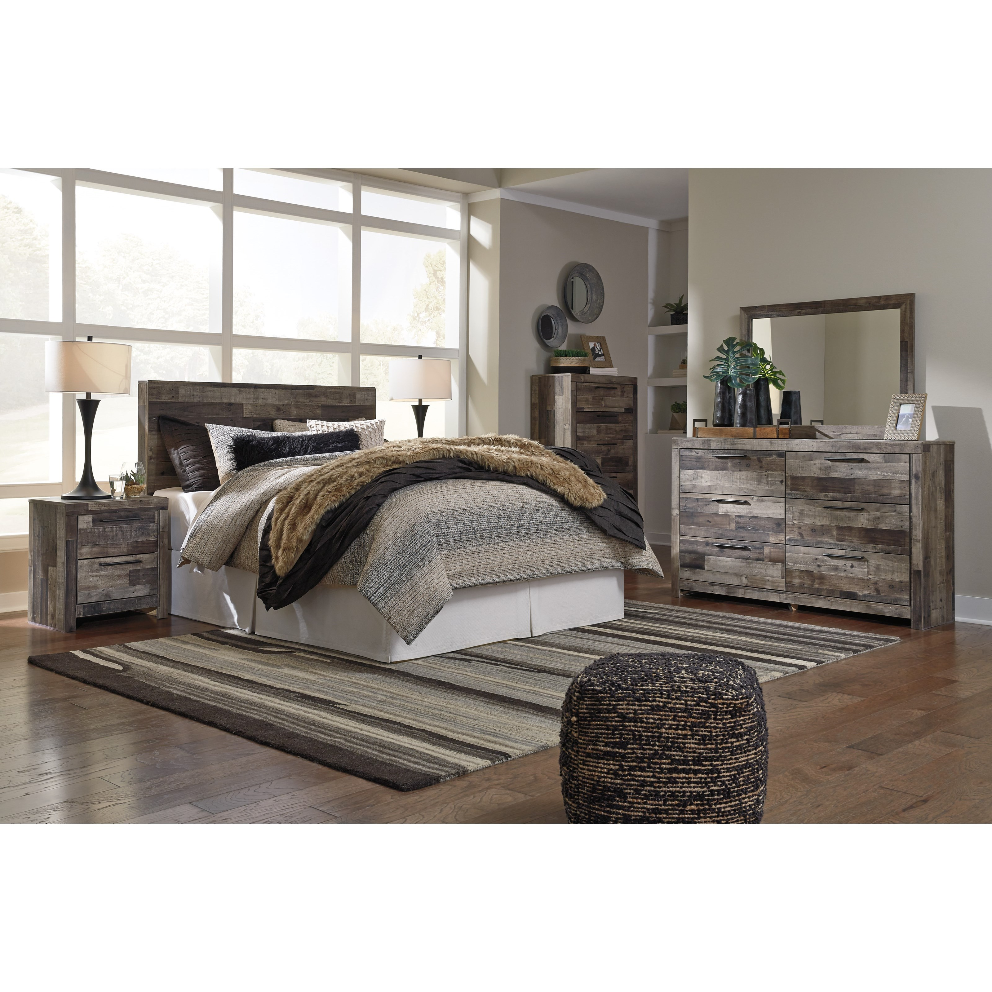 Derekson Full Bedroom Group by Benchcraft at Zak's Warehouse Clearance Center