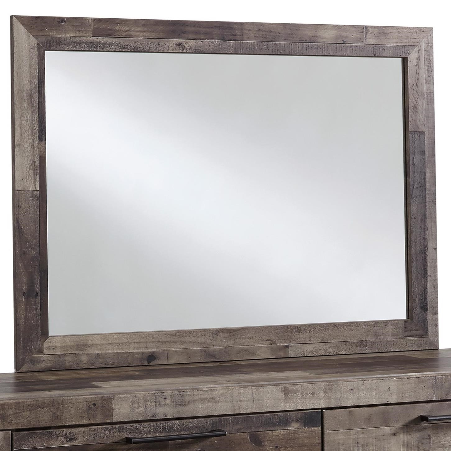 Derekson Bedroom Mirror by Benchcraft at Household Furniture