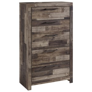 Rustic Modern 5-Drawer Chest
