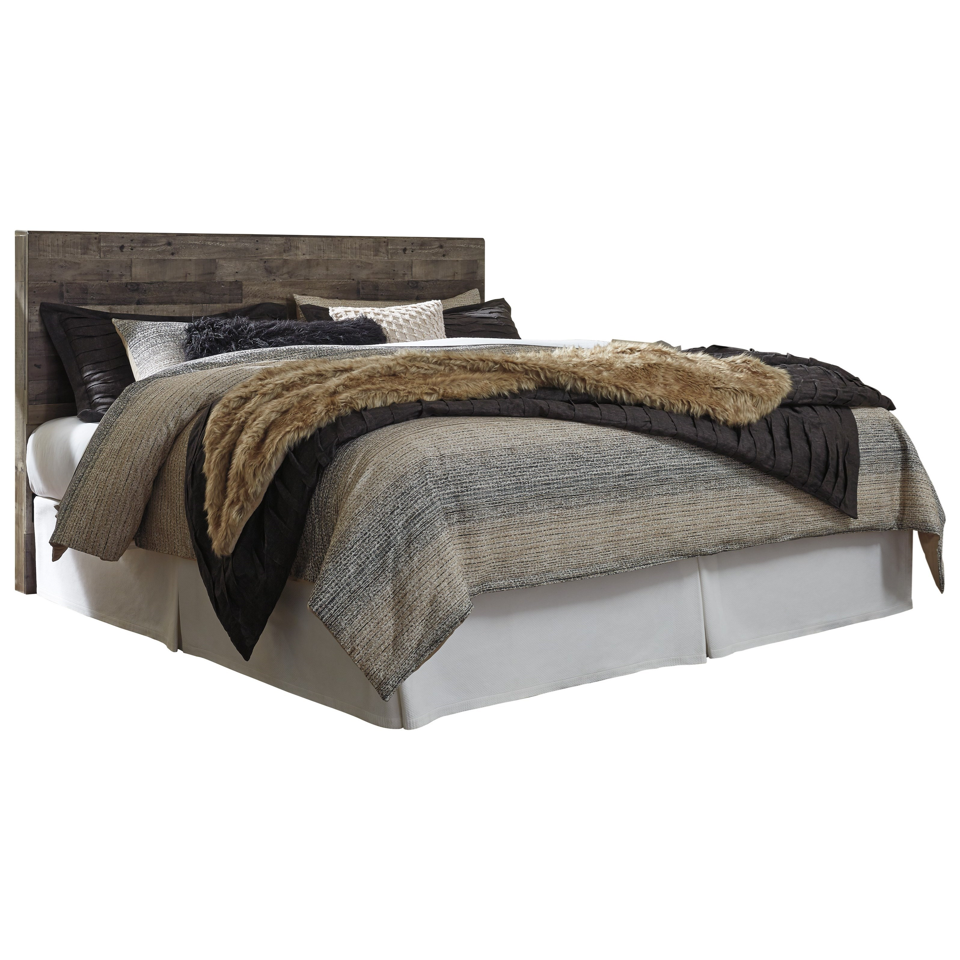 Derekson King Panel Headboard by Benchcraft at Zak's Warehouse Clearance Center