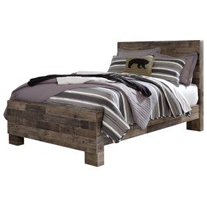 Rustic Modern Full Panel Bed