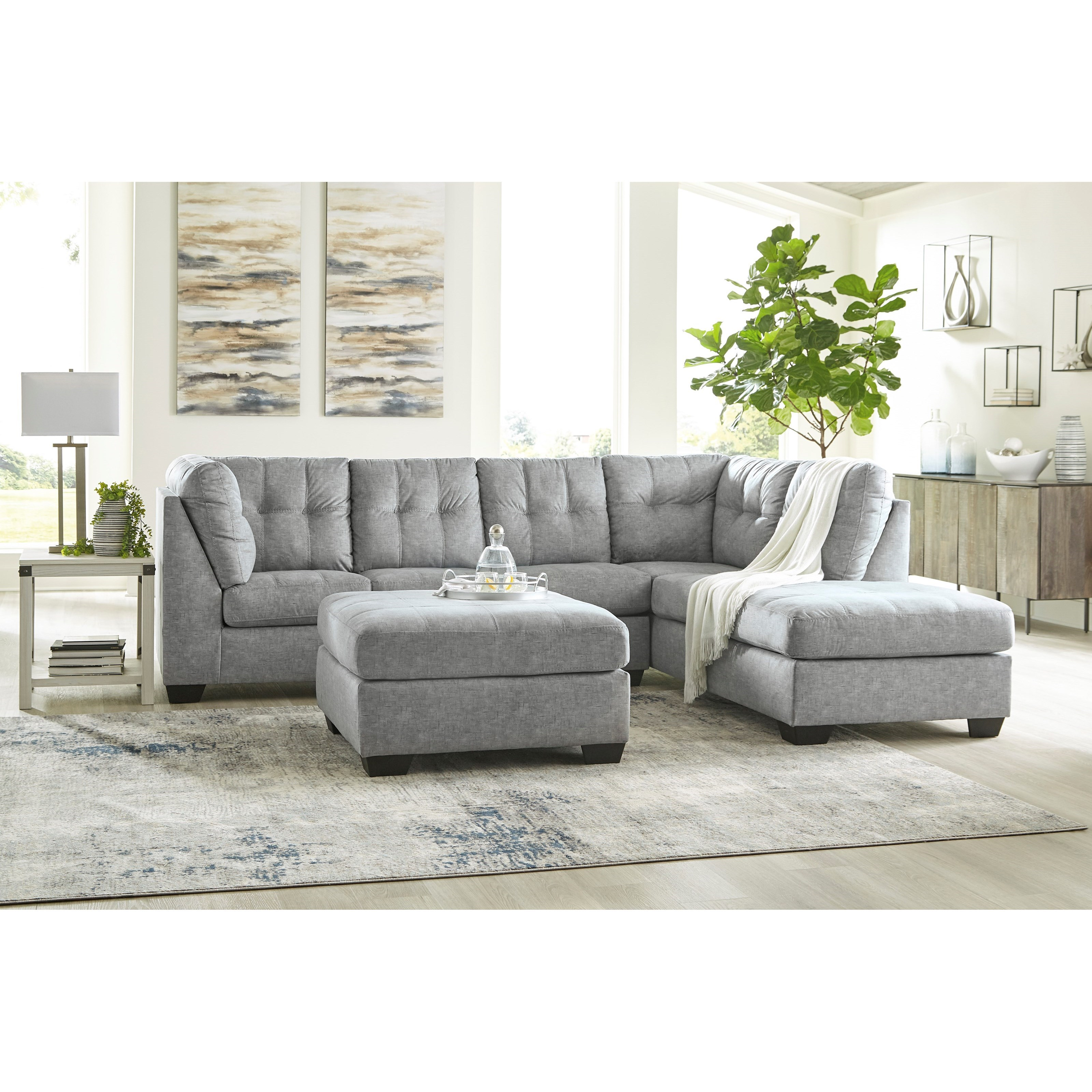 Falkirk Living Room Group by Benchcraft at Zak's Warehouse Clearance Center