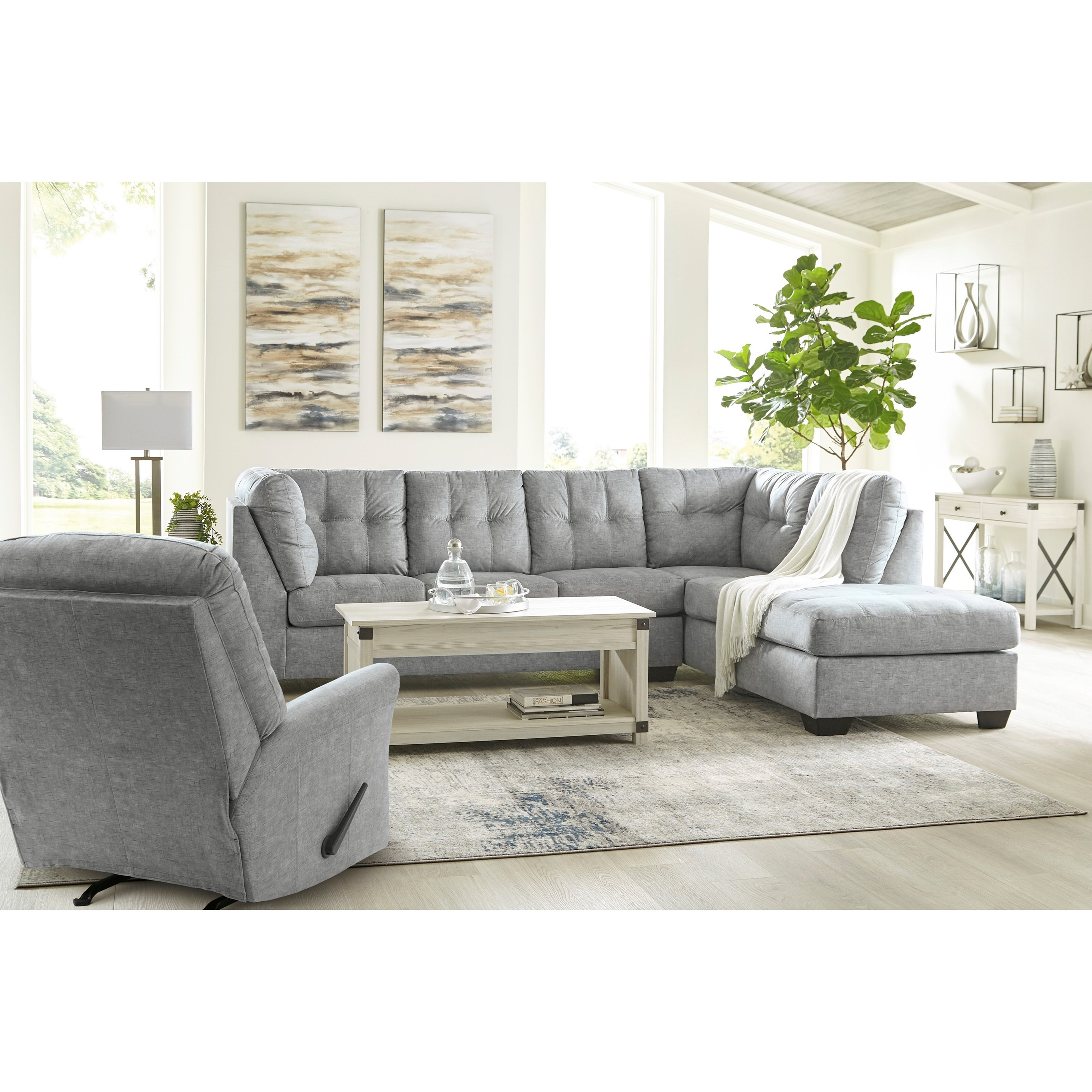 Falkirk Living Room Group by Benchcraft at Miller Waldrop Furniture and Decor