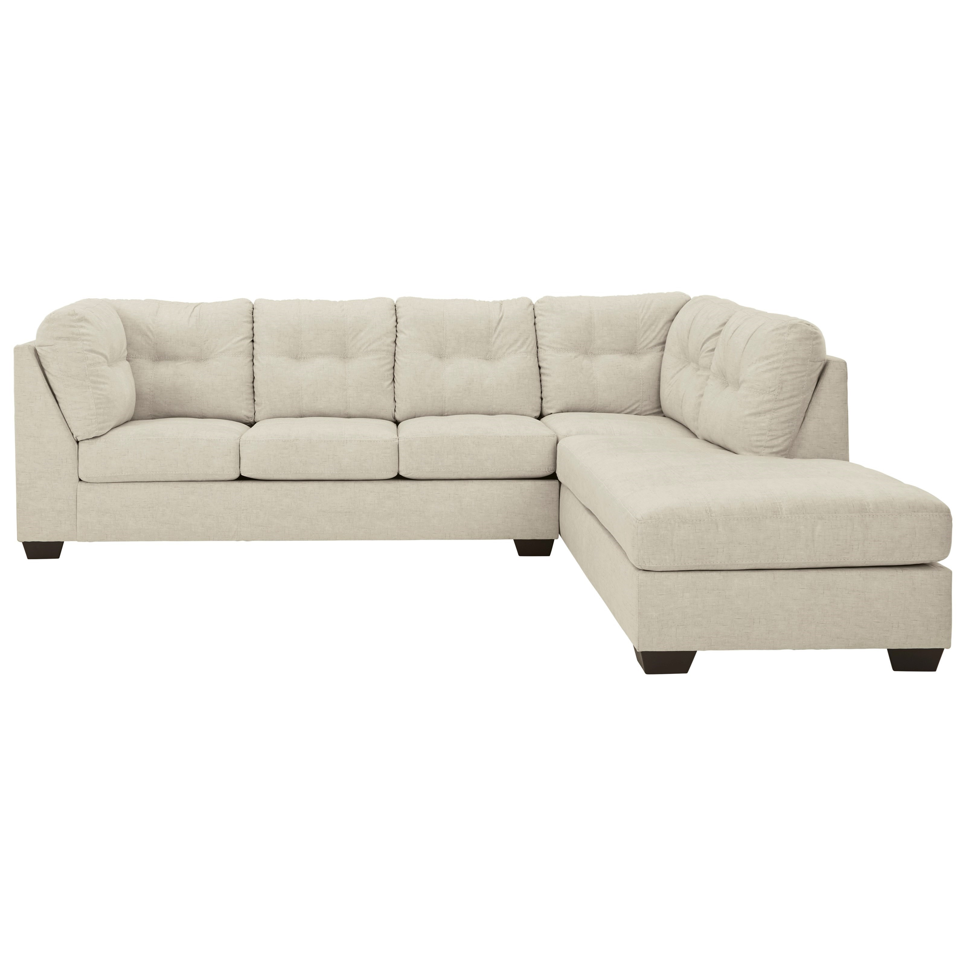 Falkirk 2-Piece Sectional with Chaise by Benchcraft at Miller Waldrop Furniture and Decor