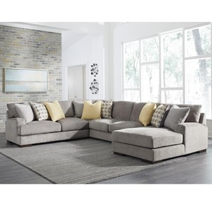 Contemporary 4 Piece Sectional