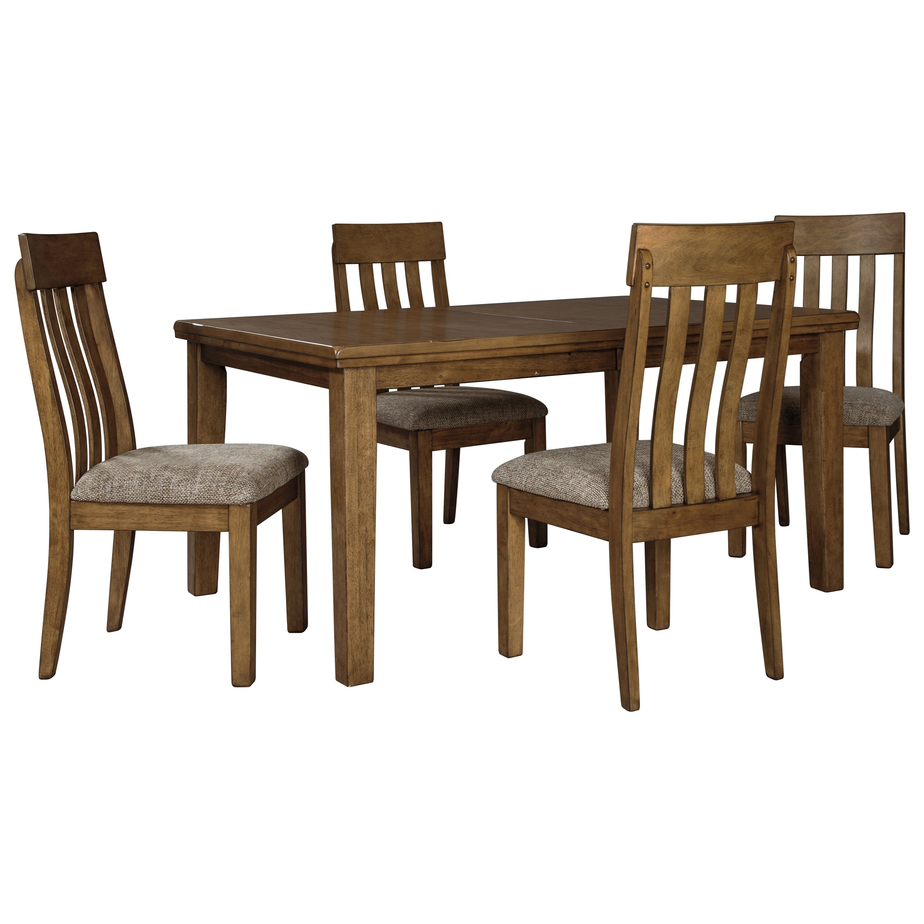 Flaybern 5-Piece Dining Set by Benchcraft at HomeWorld Furniture