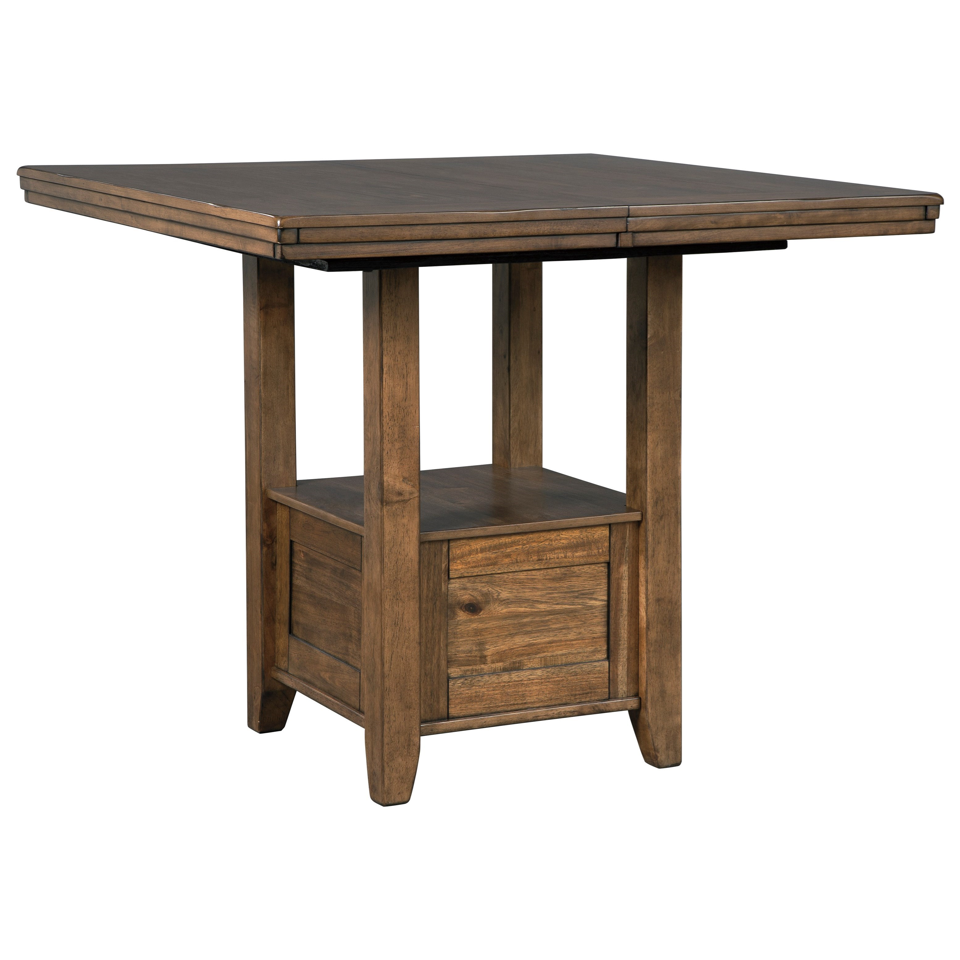 Flaybern Rectangular Counter Table by Benchcraft at Walker's Furniture