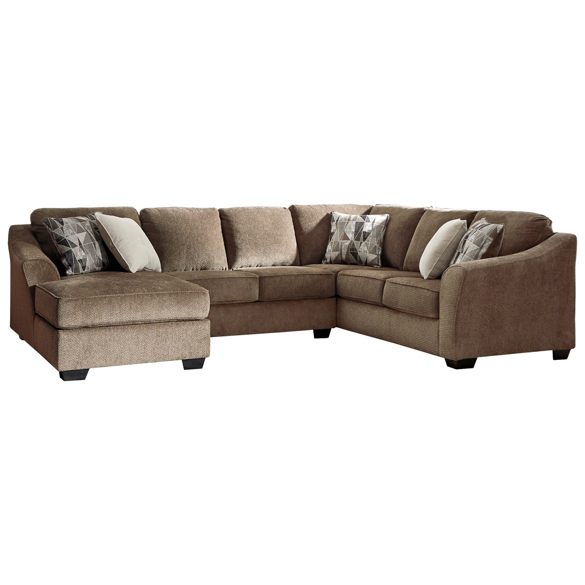 Graftin 3-Piece Sectional by Benchcraft at Lapeer Furniture & Mattress Center