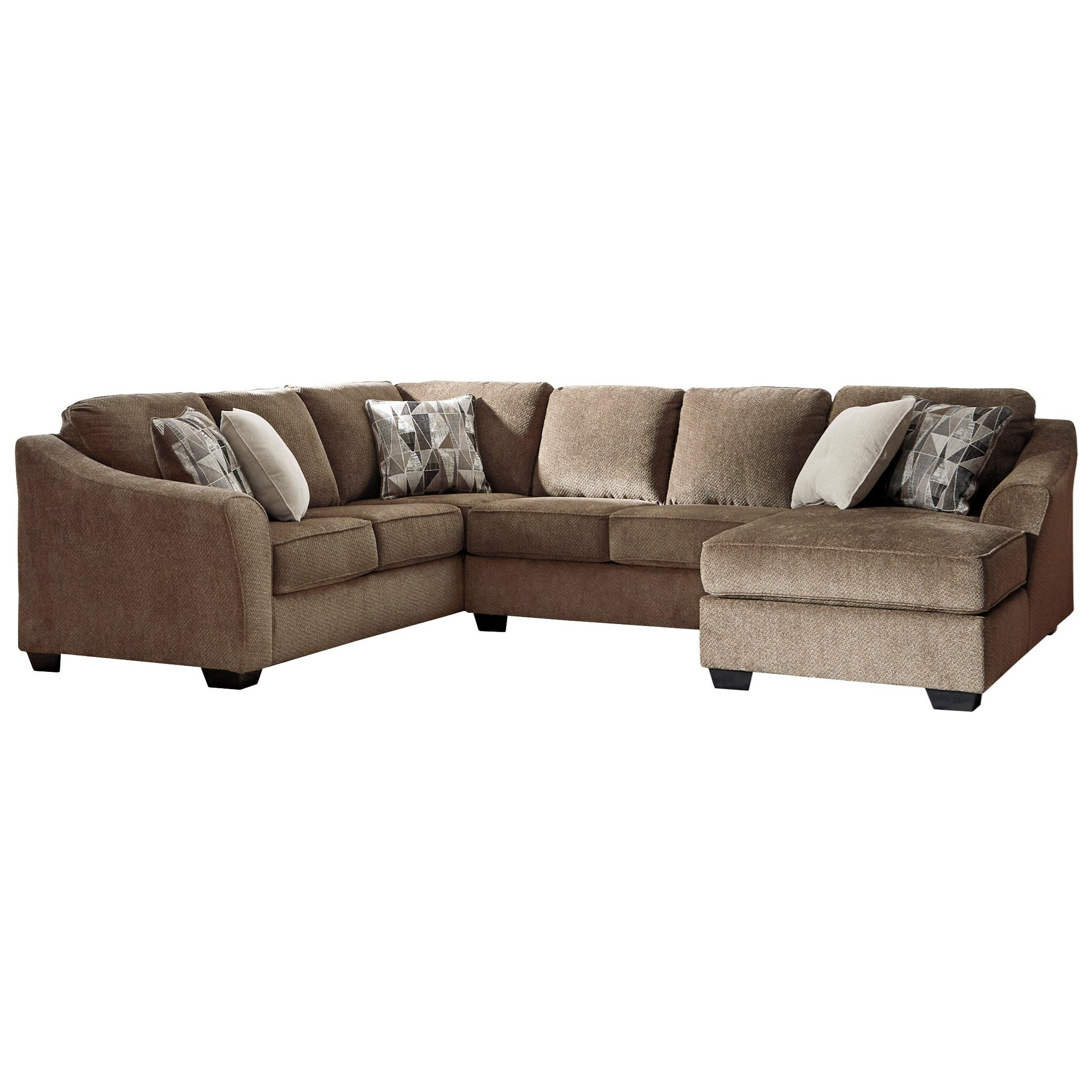 Graftin 3-Piece Sectional by Benchcraft at Miller Waldrop Furniture and Decor