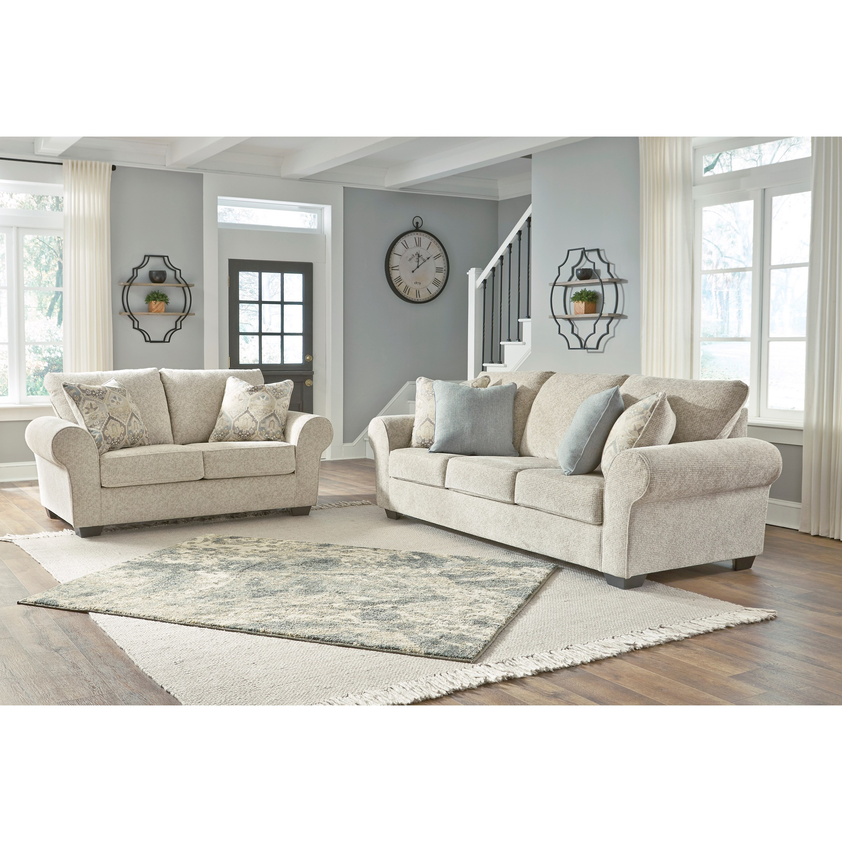 Haisley Living Room Group by Benchcraft at Johnny Janosik