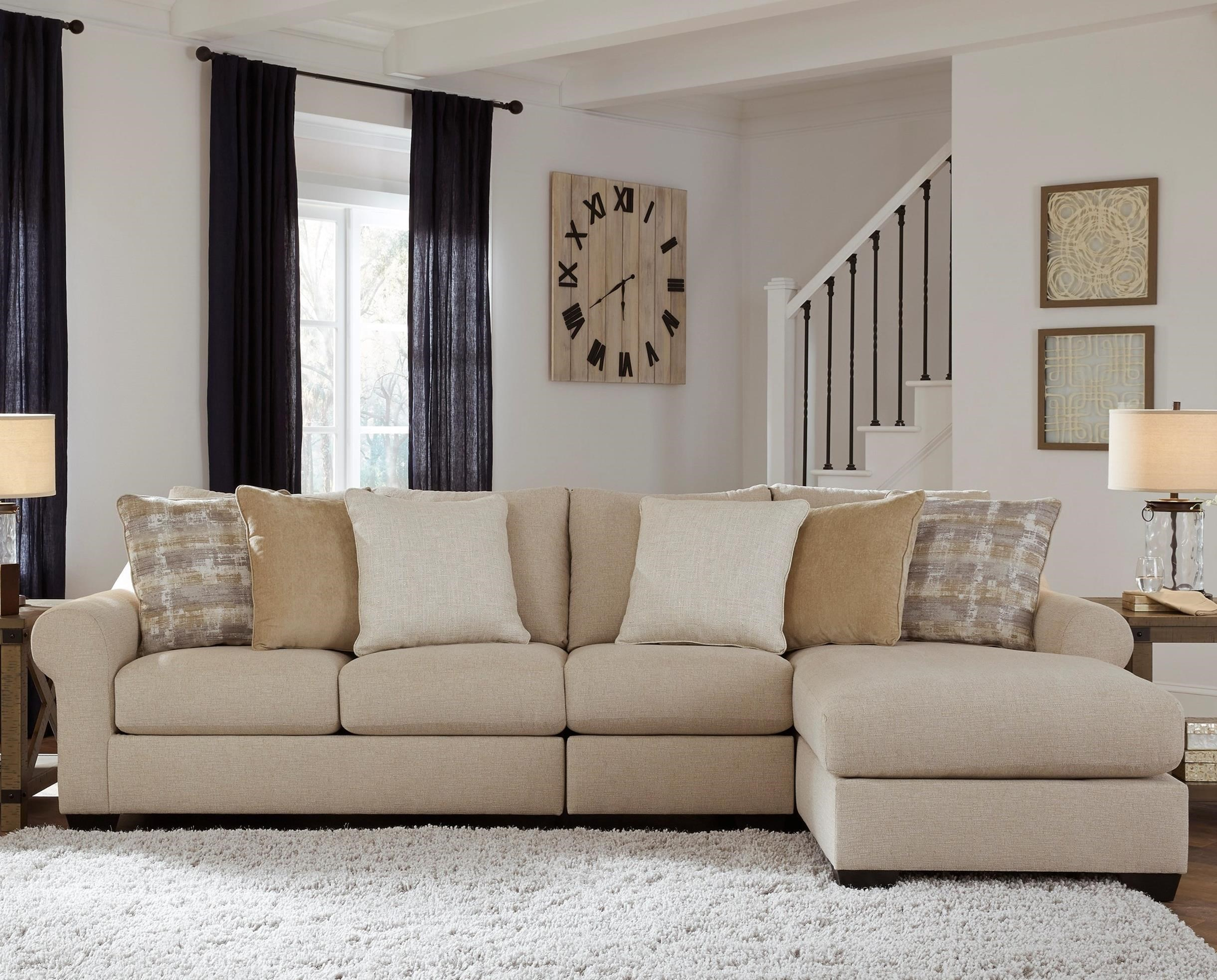 Ingleside 3-Piece Sofa Chaise by Benchcraft at Walker's Furniture