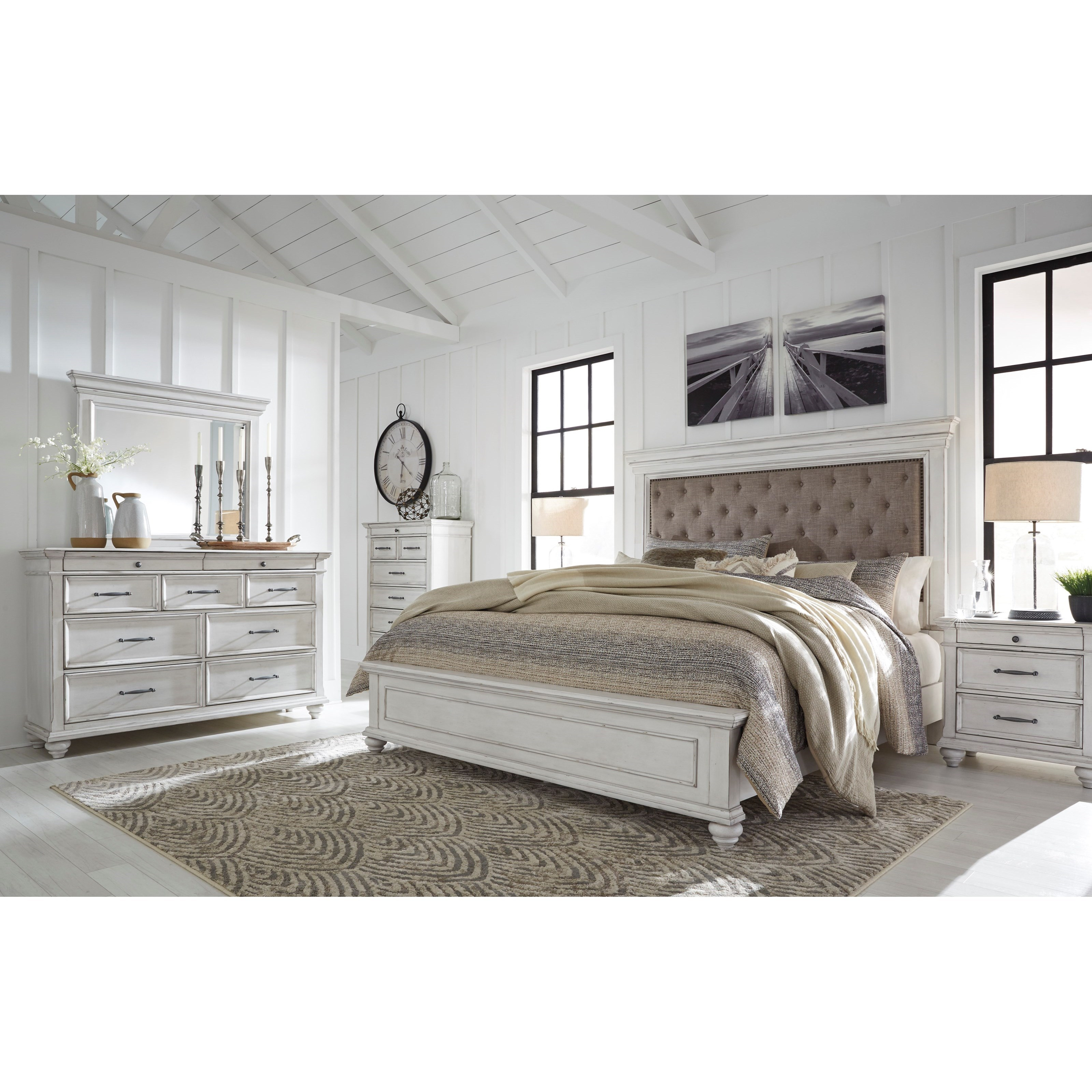 Kanwyn California King Bedroom Group by Benchcraft at Northeast Factory Direct