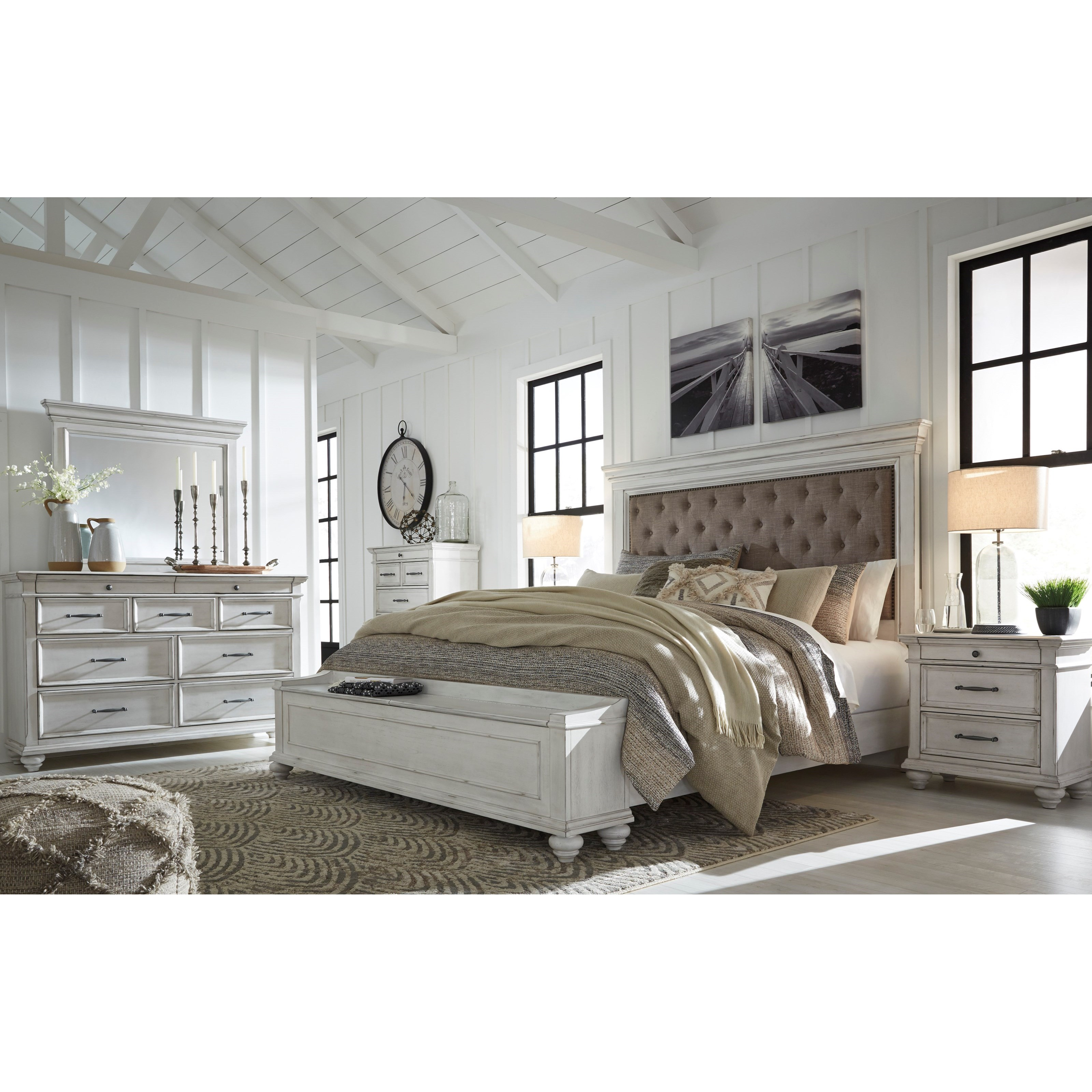 Kanwyn King Bedroom Group by Benchcraft at Furniture Barn