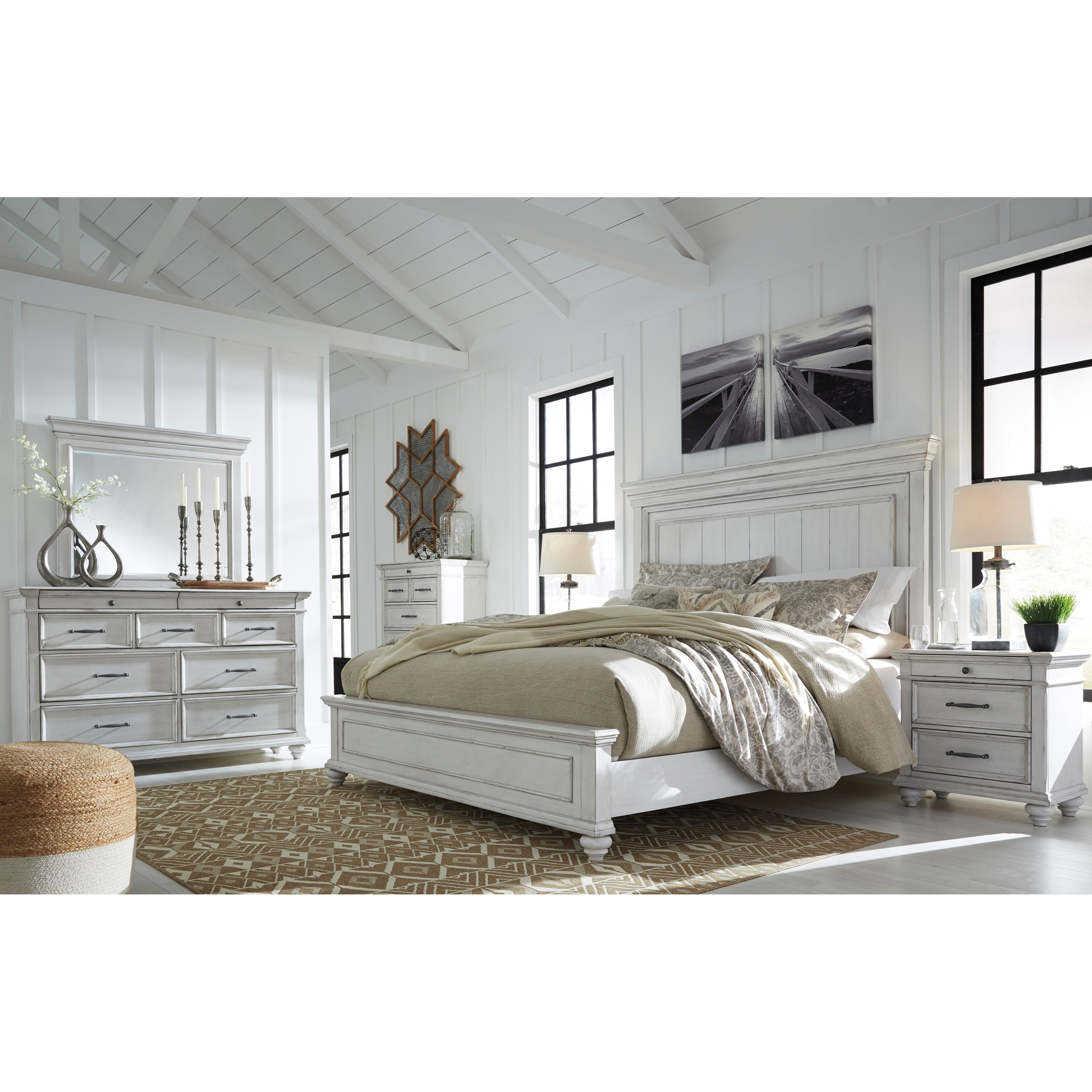 Kanwyn Queen Bedroom Group by Benchcraft at Walker's Furniture