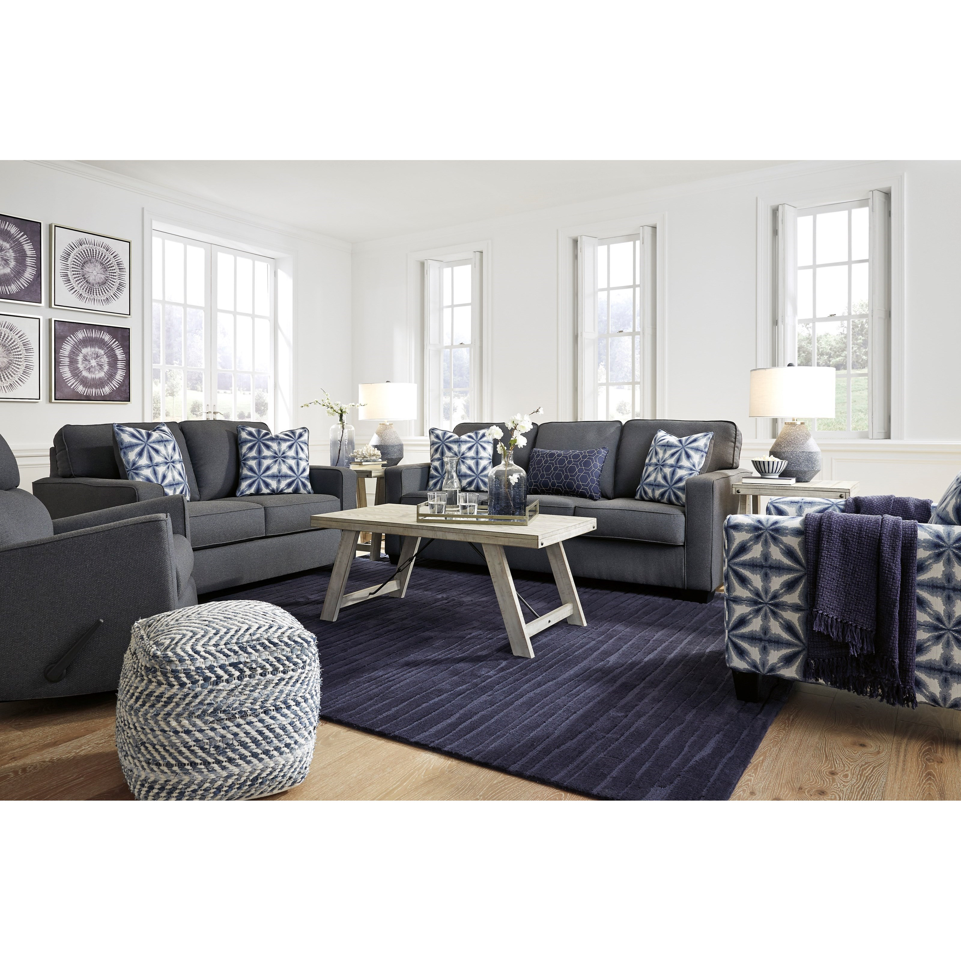 Kiessel Nuvella Living Room Group by Benchcraft at Northeast Factory Direct
