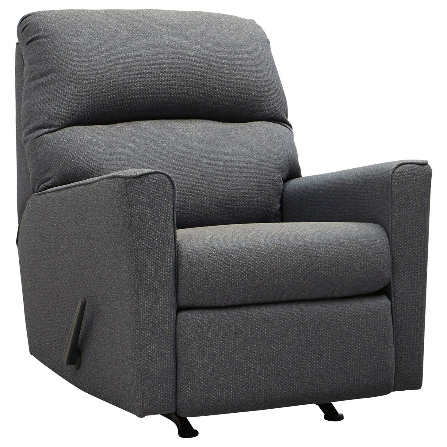 Kiessel Nuvella Rocker Recliner by Benchcraft at Miller Waldrop Furniture and Decor