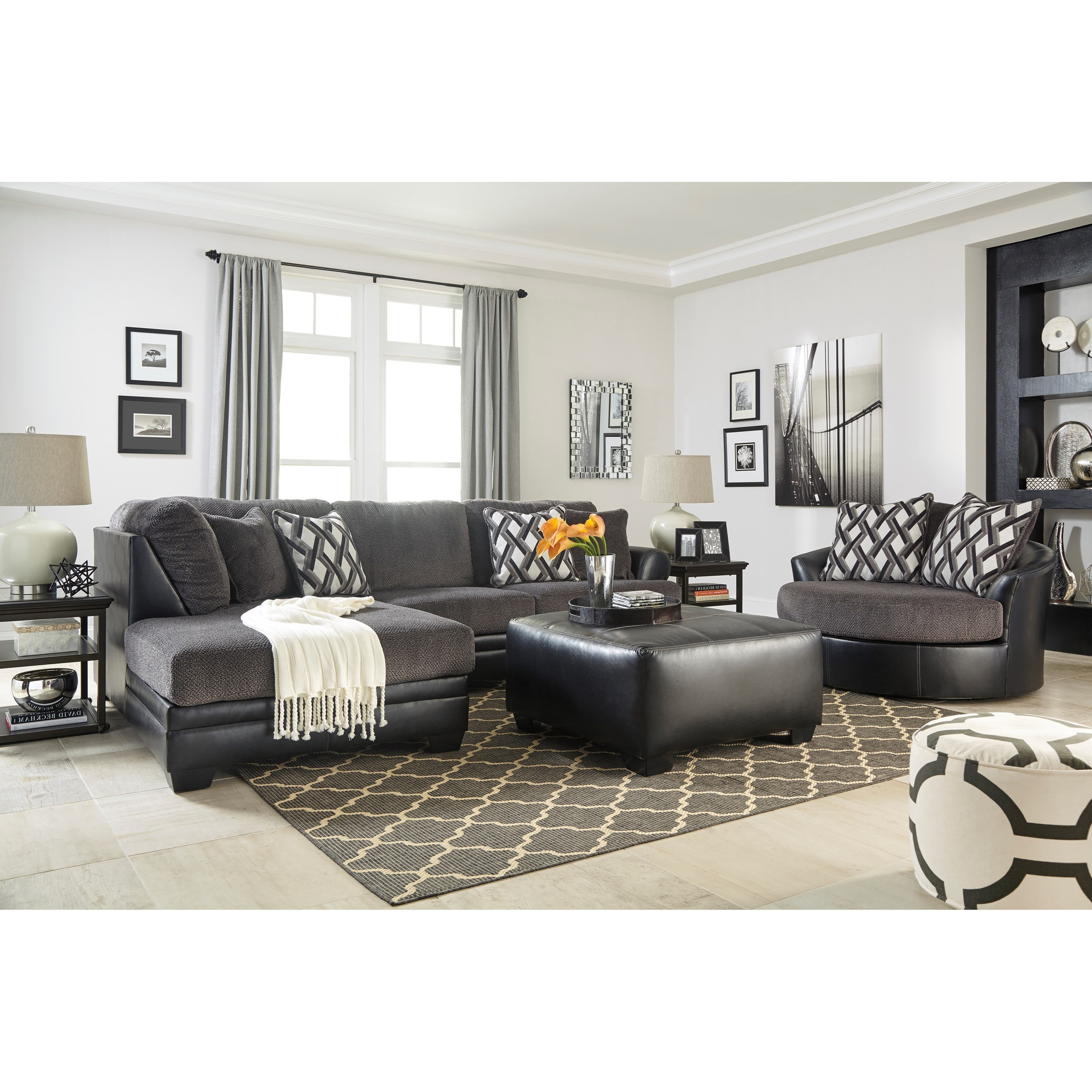 Kumasi 4pc Living Room Group by Benchcraft at Value City Furniture