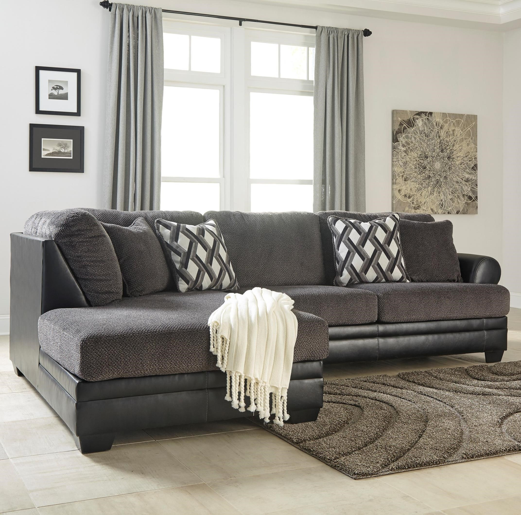 Kumasi 2-Piece Sectional with Left Chaise by Benchcraft at Zak's Warehouse Clearance Center